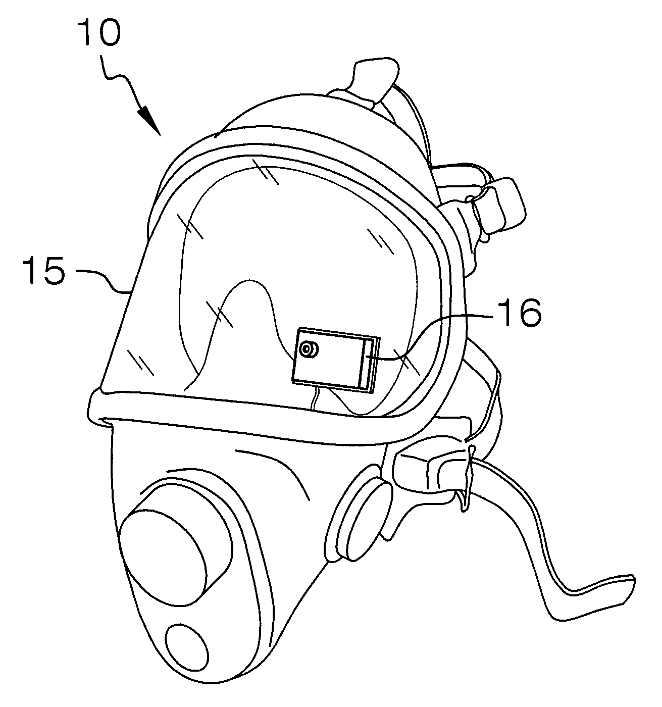 Fire Helmet Coloring Page