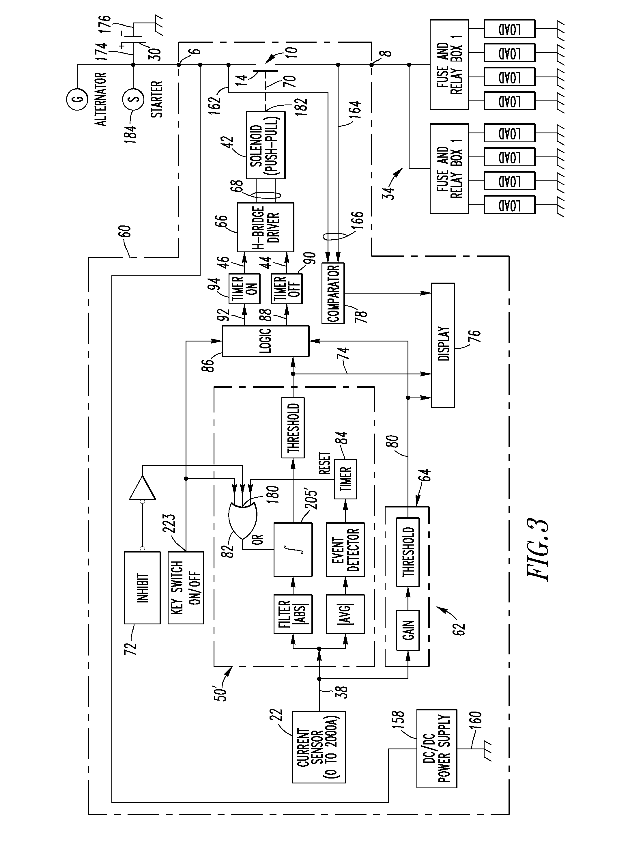 US07460344 20081202 D00002 patent us7460344 direct current and battery disconnect apparatus intellitec battery disconnect wiring diagram at gsmx.co
