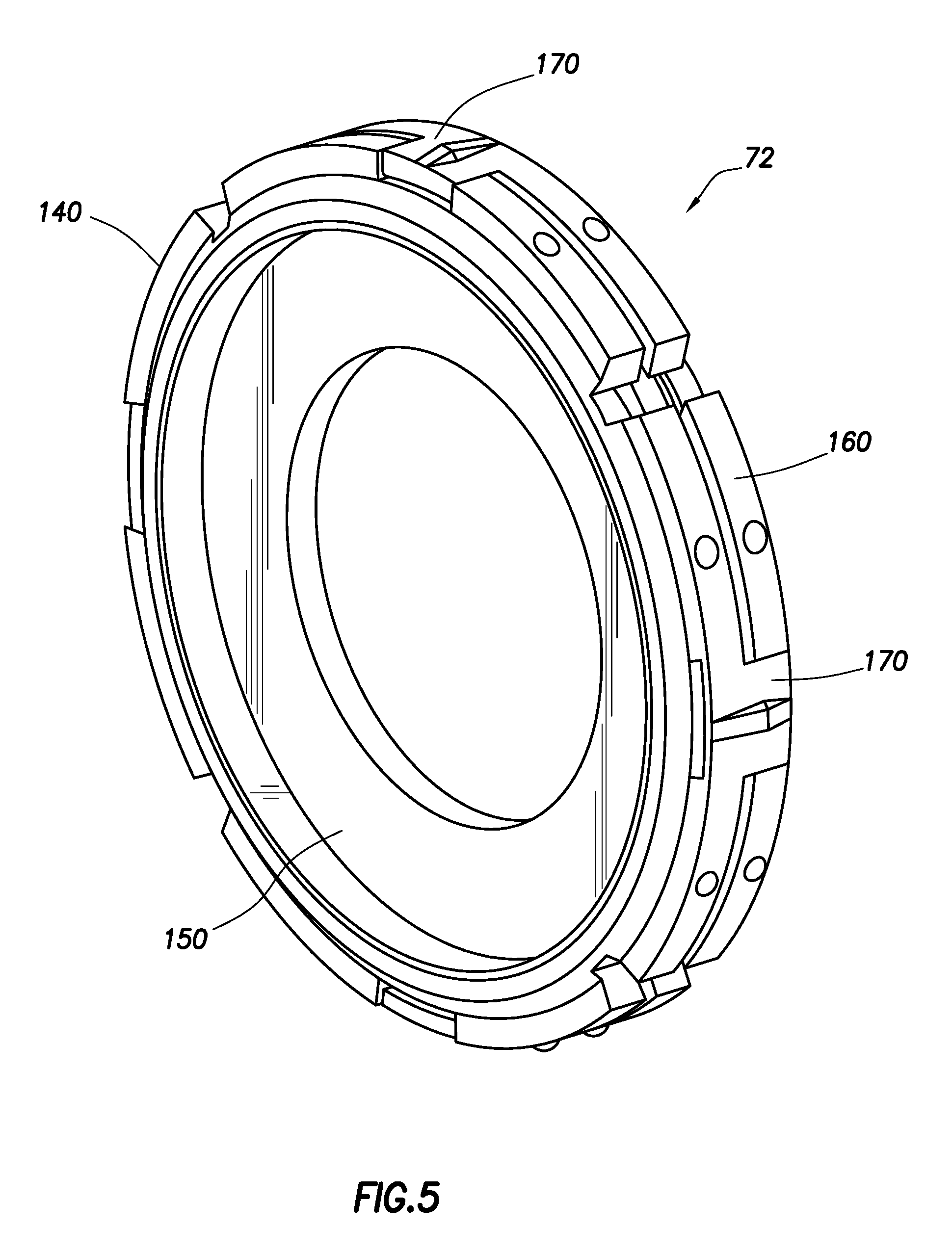 Patent us bi directional orifice plate assembly