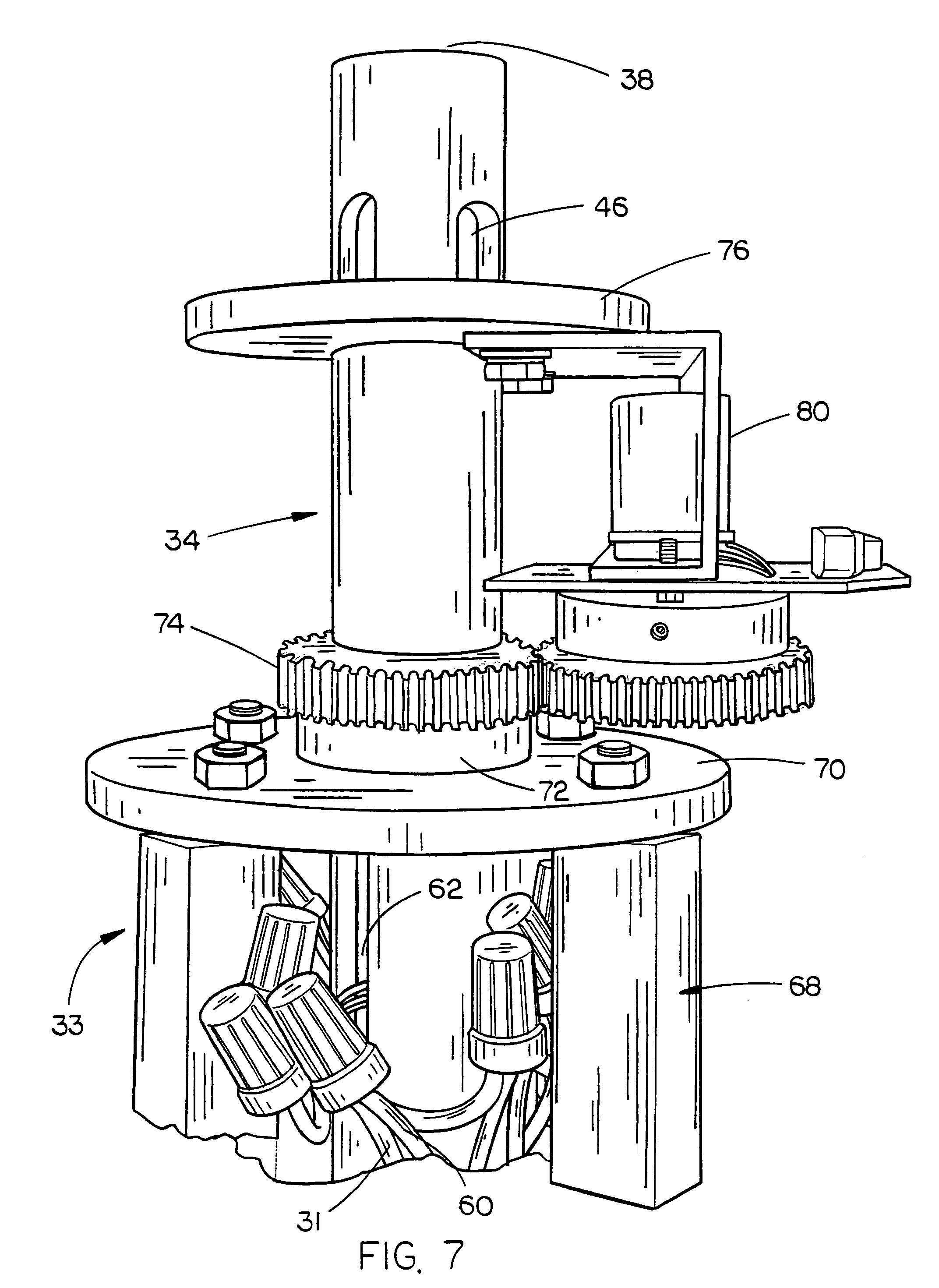 patent us collector ring for a center pivot irrigation patent drawing