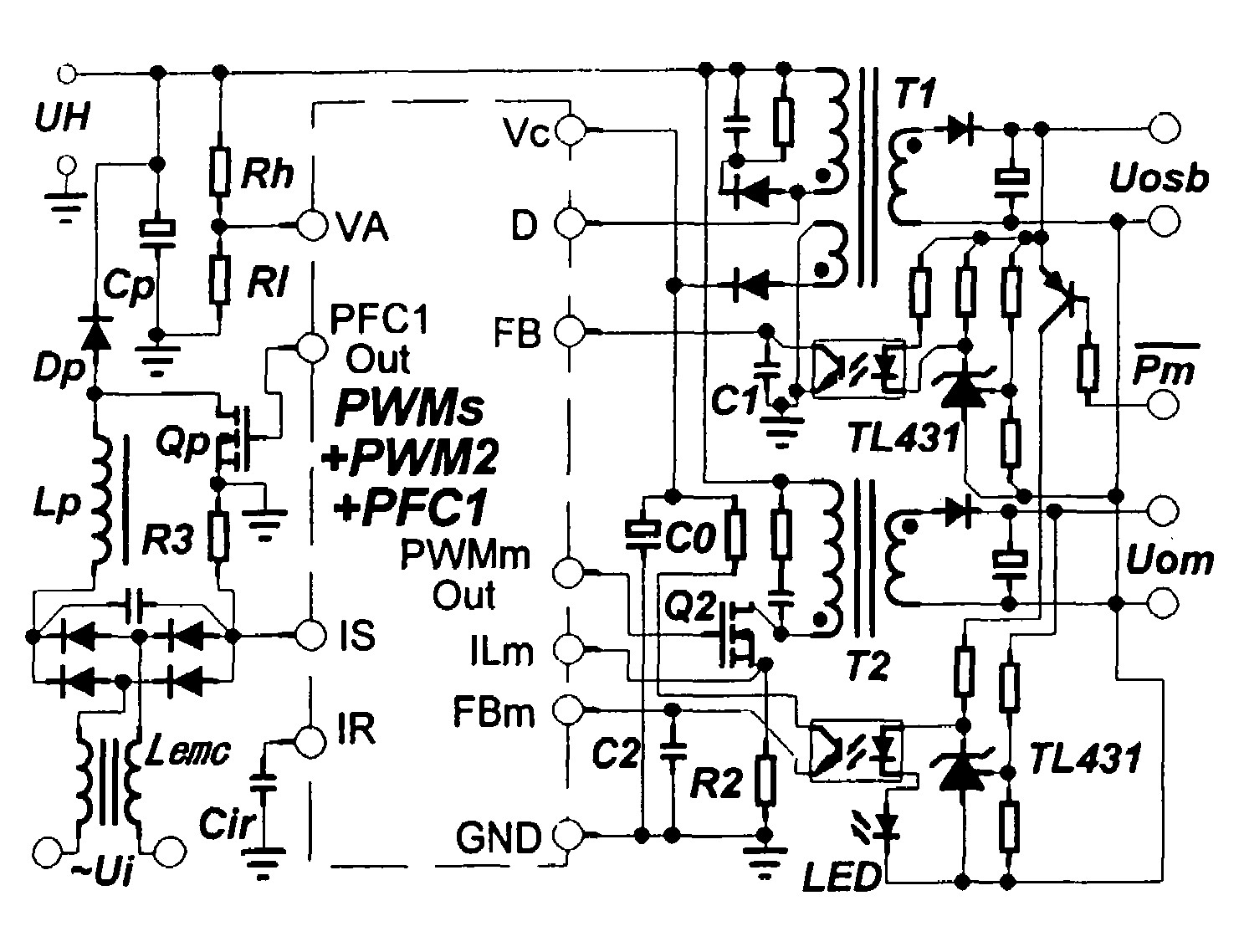 patent us7471527 green switch power supply with standby function on digital adjustable dc power supply schematic