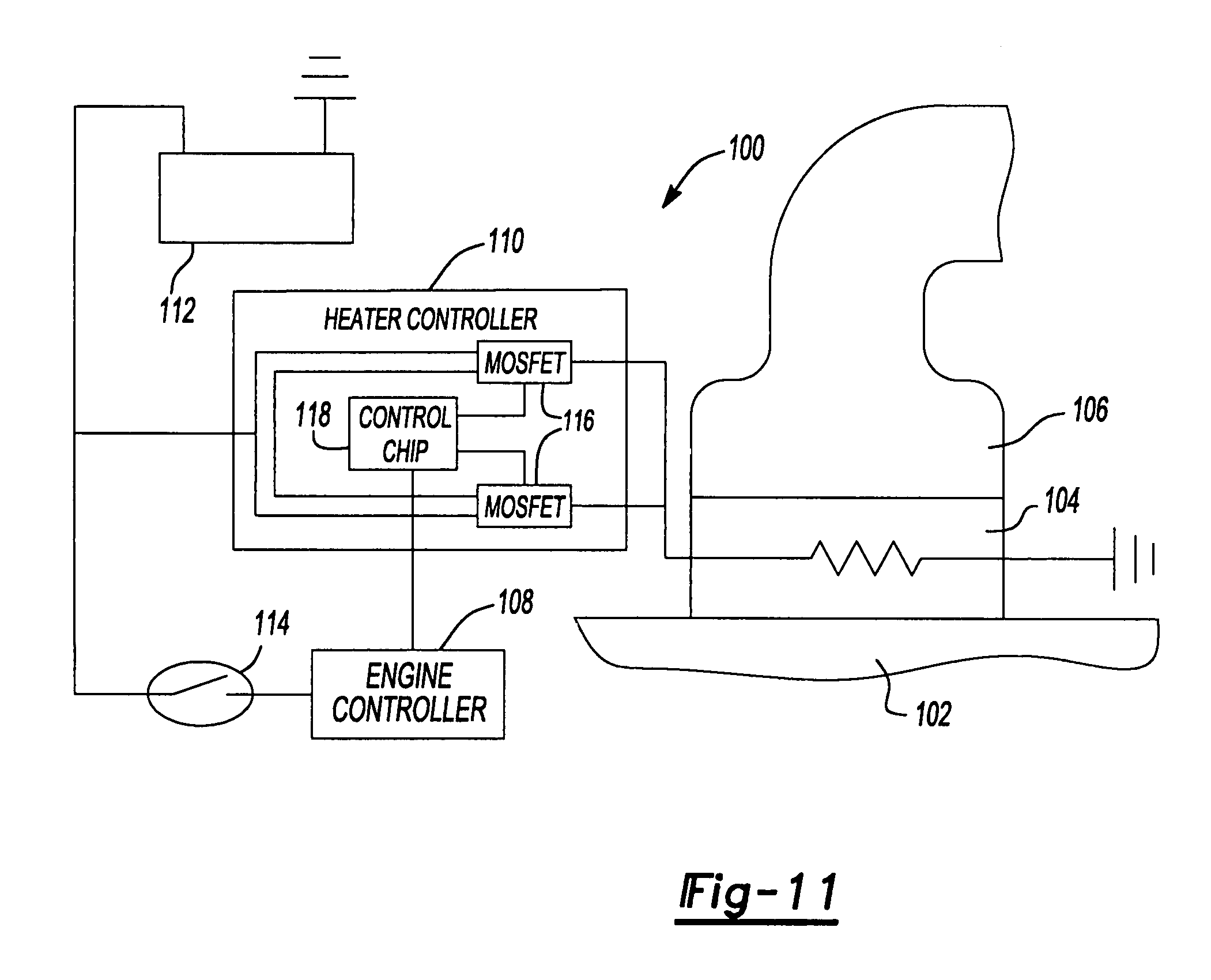 air intake heater circuit wiring diagram schematic wiring