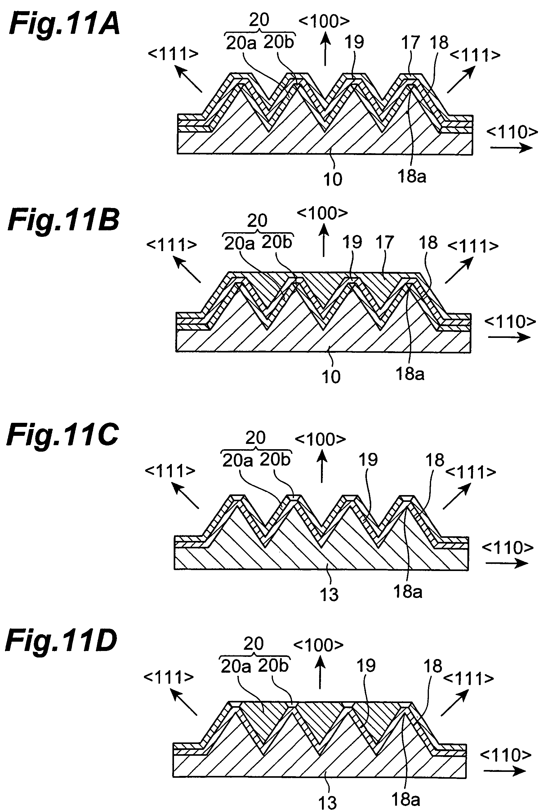 application of p type semiconductor