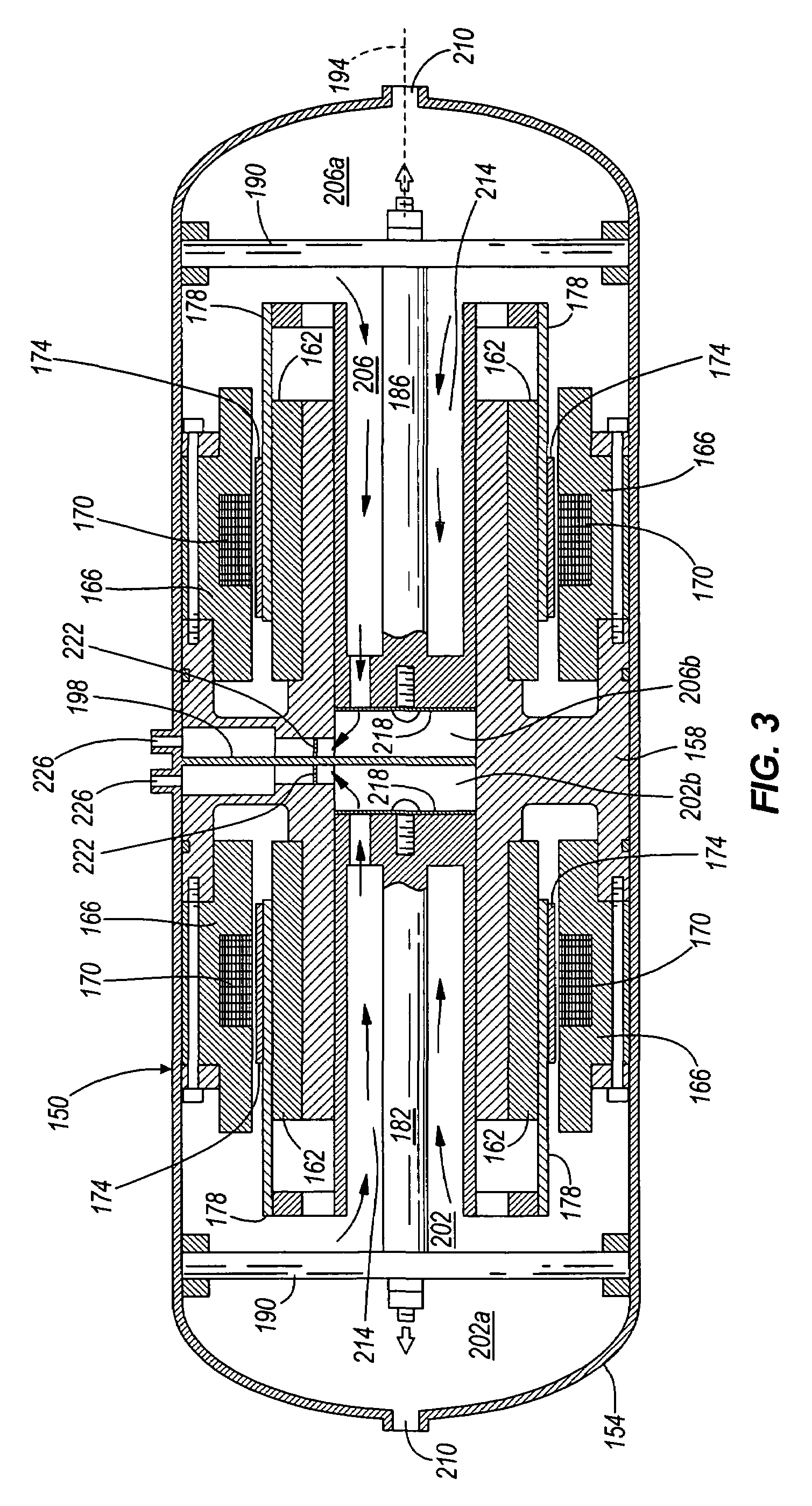 patent us7478539 - two-stage linear compressor