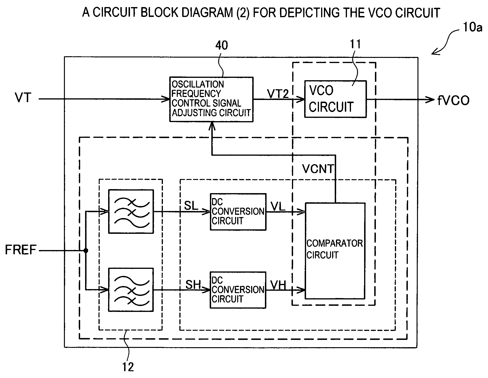 Patent Us7482882 Voltage Control Oscillation Circuit And Adjusting Comparator Circuits Schematic Drawing