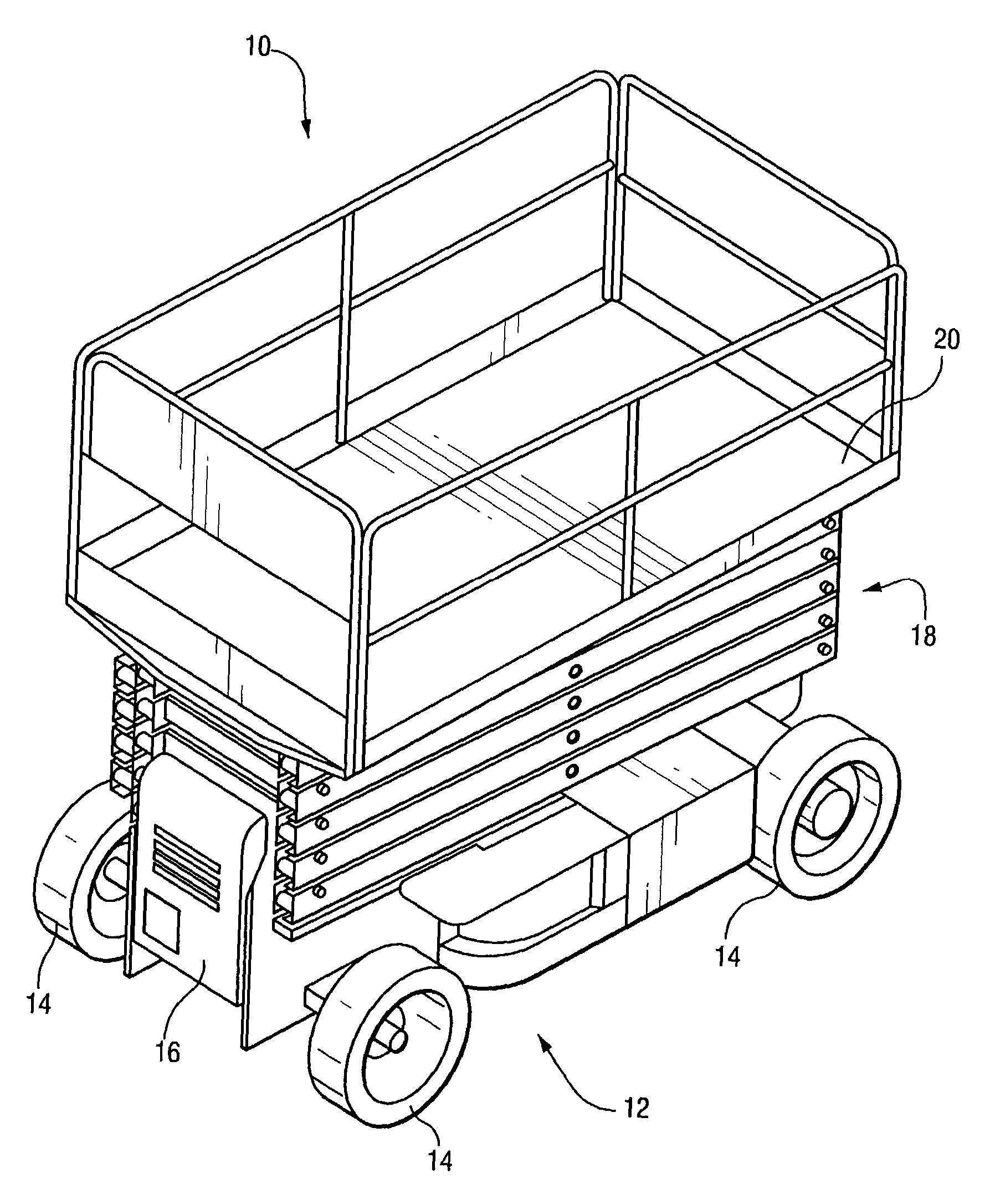 Patent Us7493987 Platform Load Sensing For Vertical Lifts Google 93 Tercel A C Compressor Wiring Diagram Drawing
