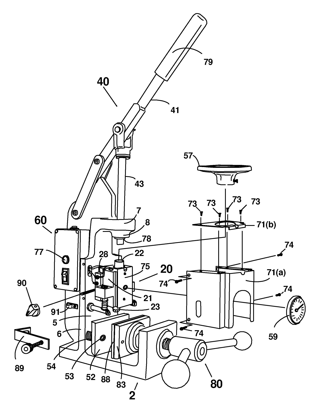 patent us7494332