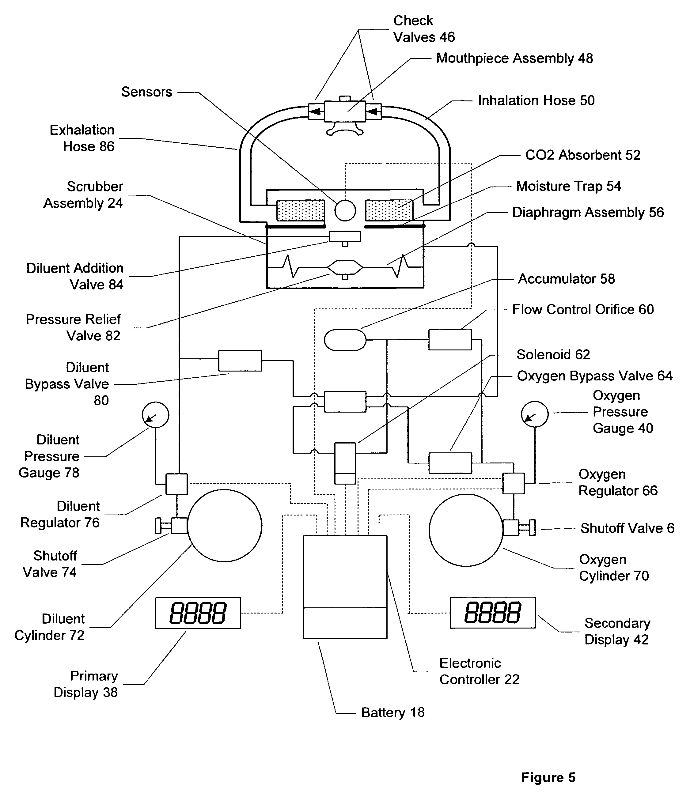 Patent US7497216 - Self contained breathing apparatus modular ...