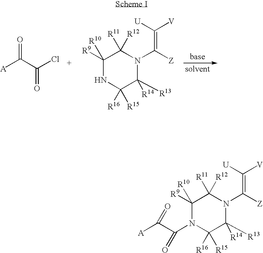 Patent US7504399 - Piperazine enamines as antiviral agents ...