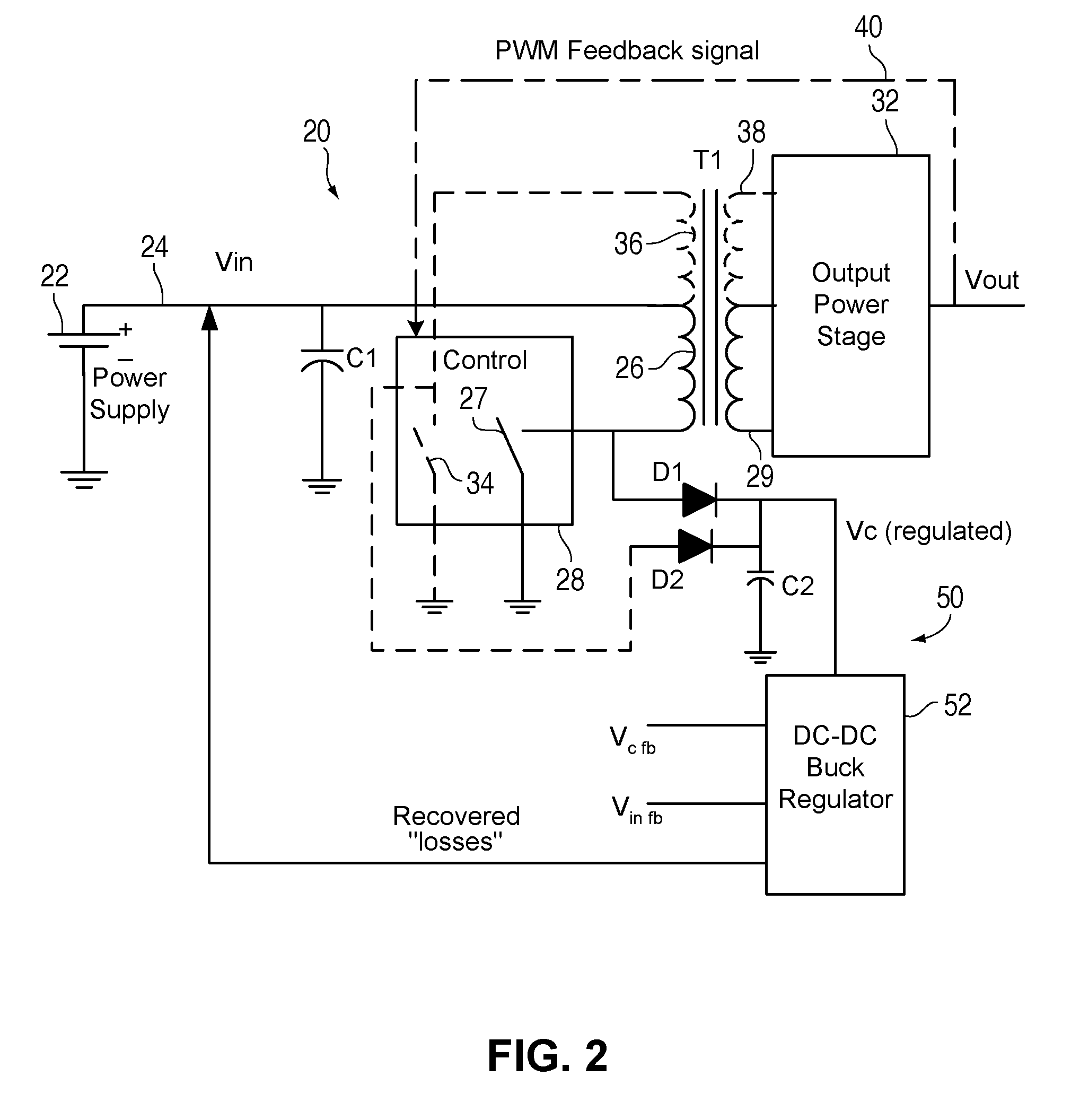 Patent Us7511972 Dc Converter Recycling Leakage Inductor In A Circuit Drawing