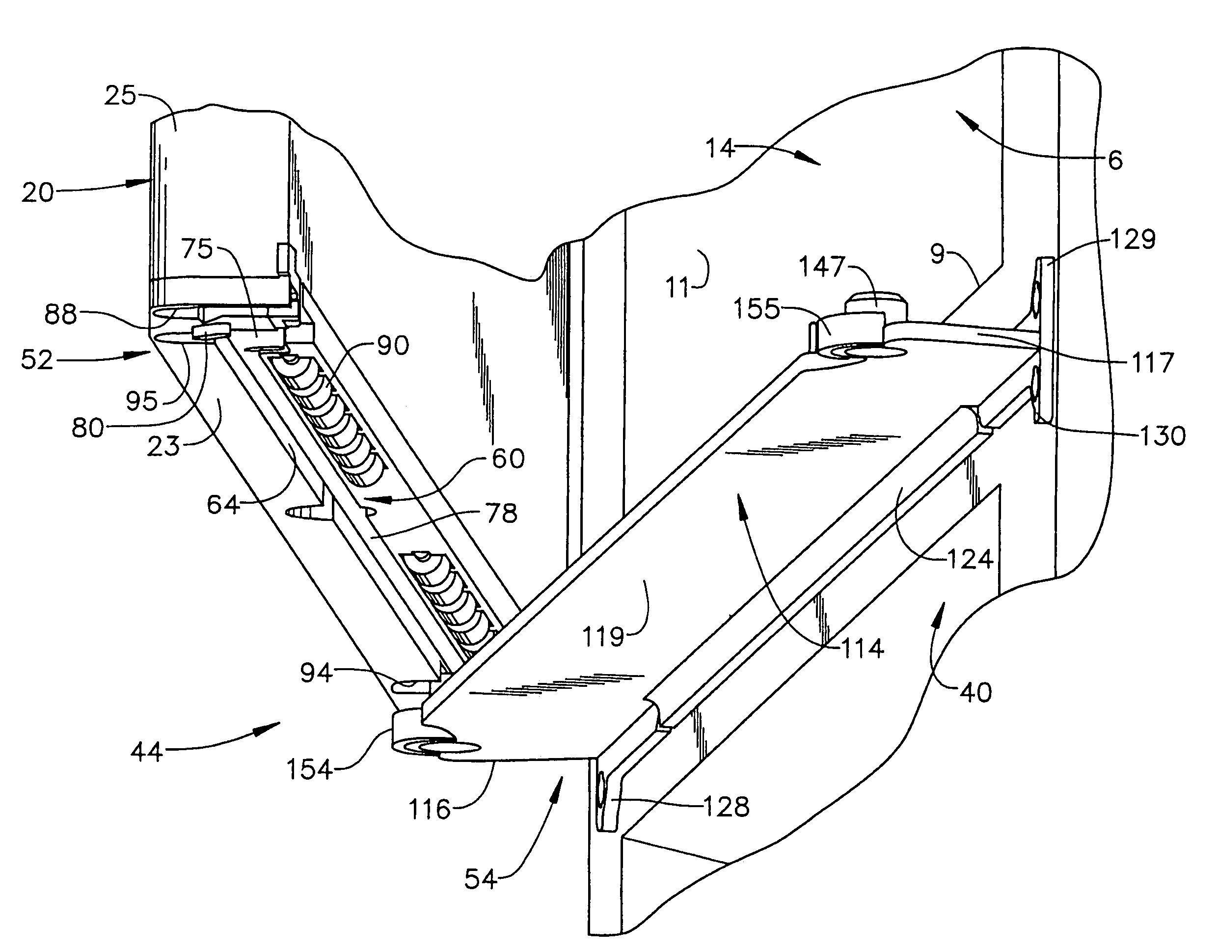 Patent us refrigerator with dual swing door