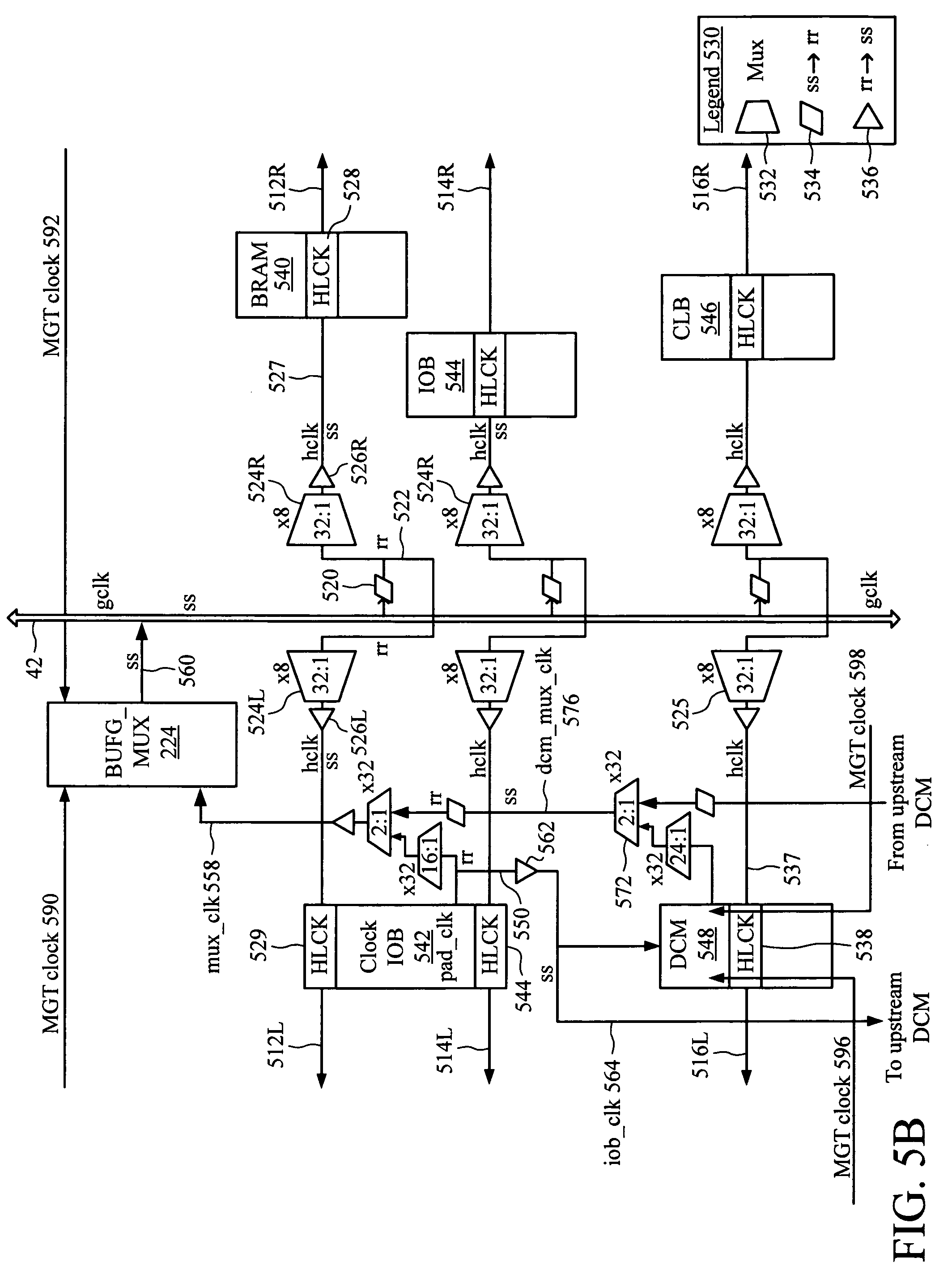 patent us7518401 - differential clock tree in an integrated circuit
