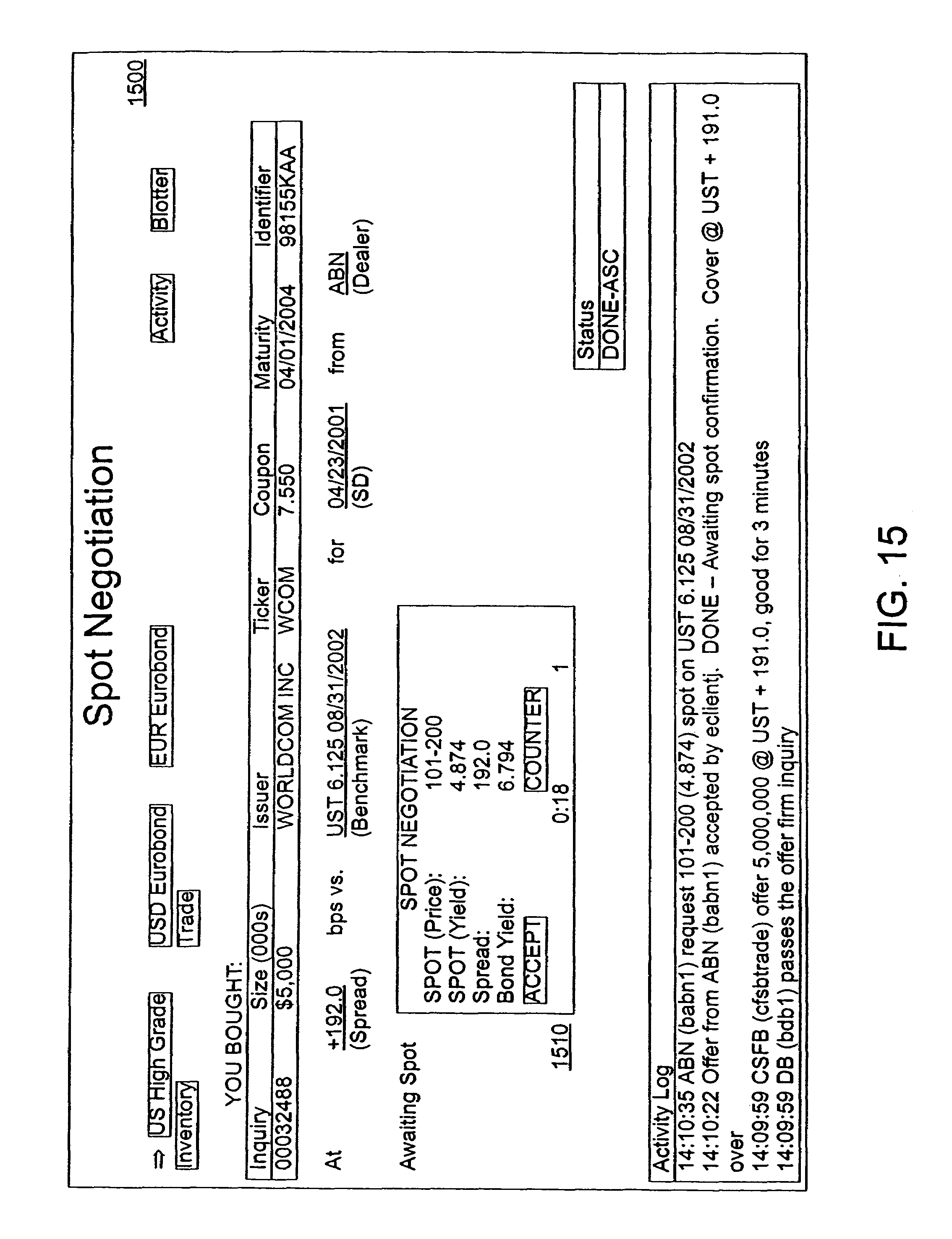 Patent US7526443 - Method and system for computer-implemented ...
