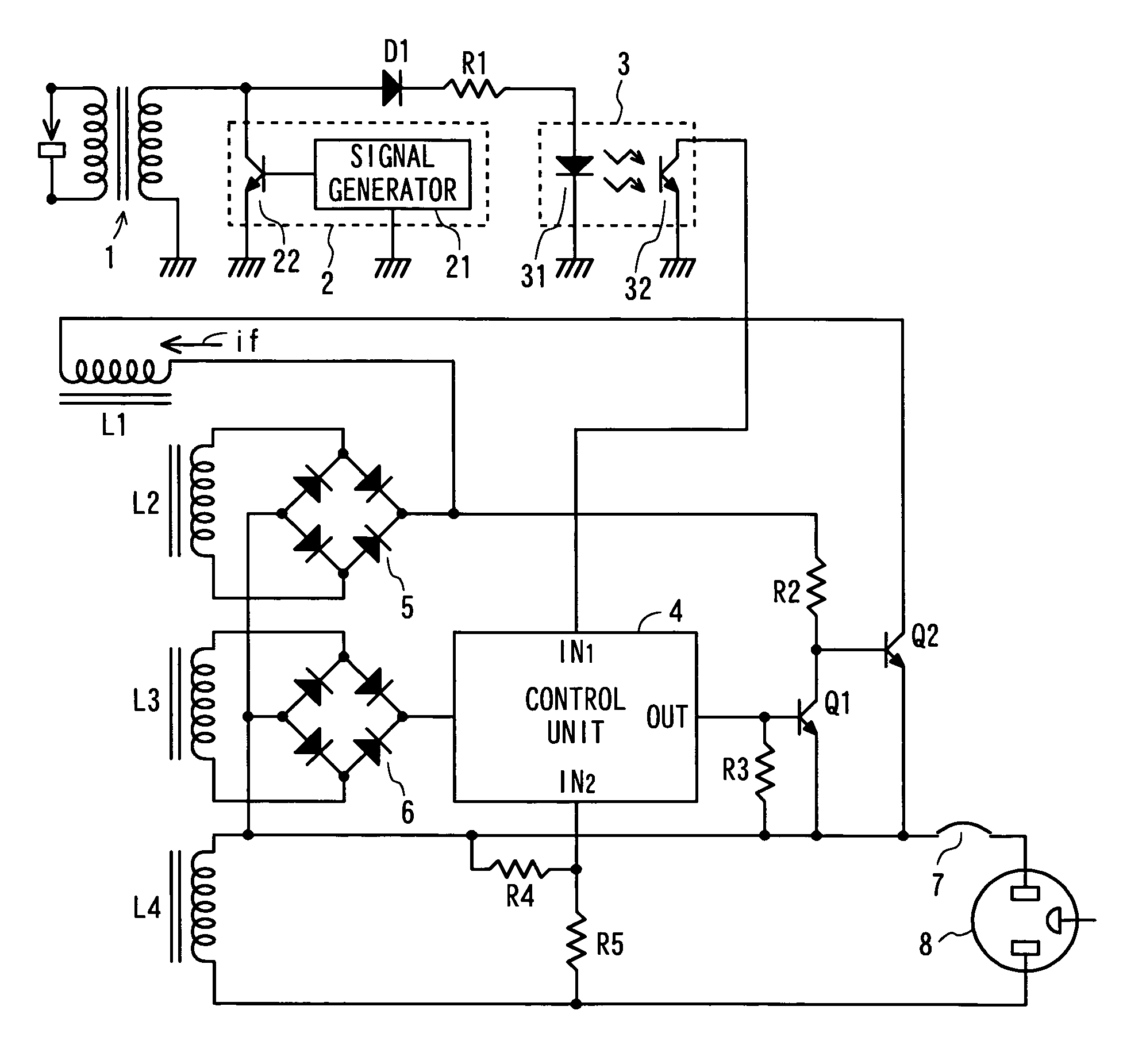 Patent Us7531991 Output Voltage Regulator For Engine Driven Generator Wiring Diagram L1 R1 Drawing