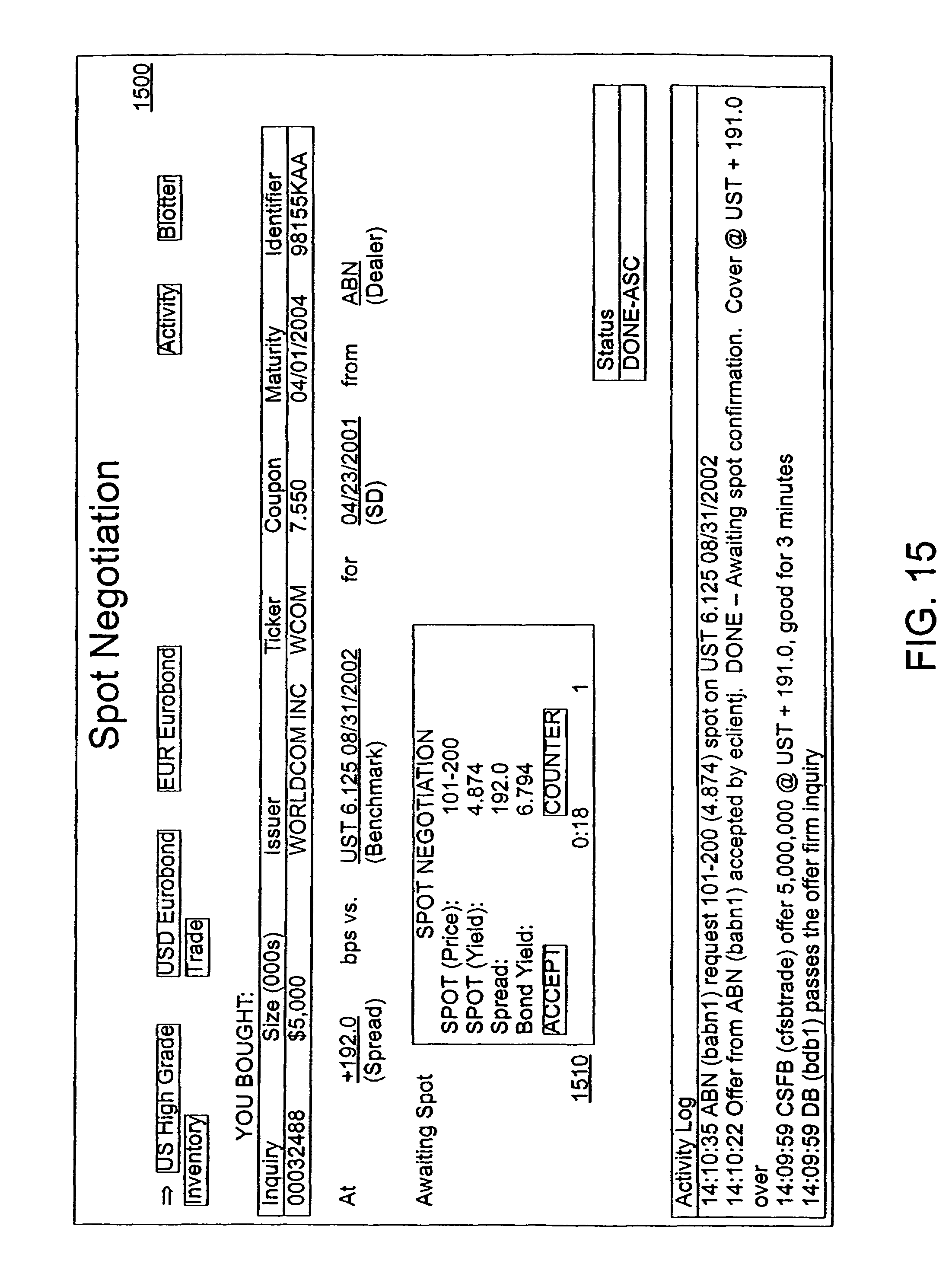 Patent US7539641 - Method and system for computer-implemented ...