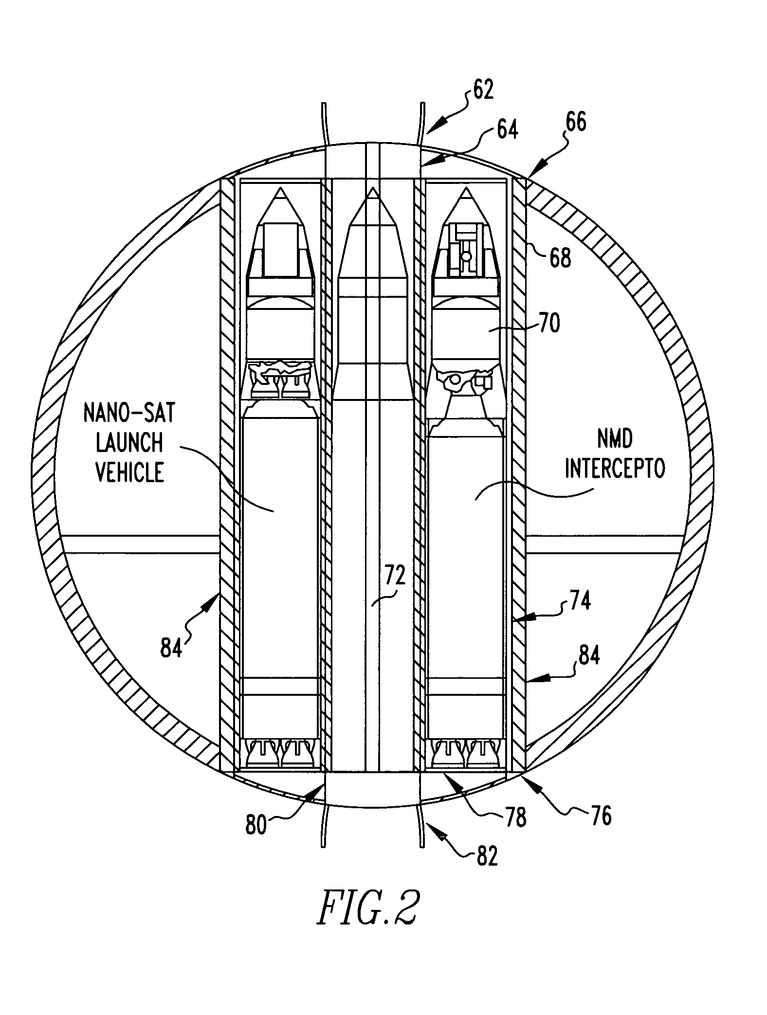 Missile Drawing Patent US754022...