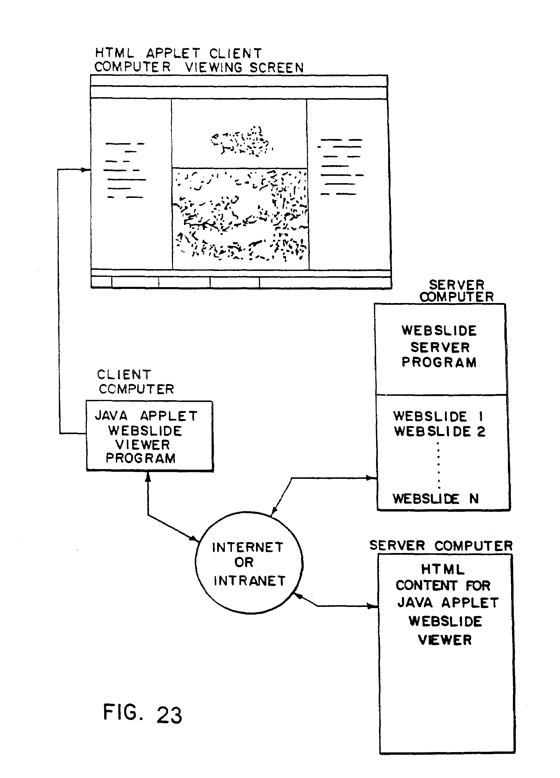Patent Us7542596 Method And Apparatus For Internet Intranet Also Learning Memory Diagram On Network With Drawing