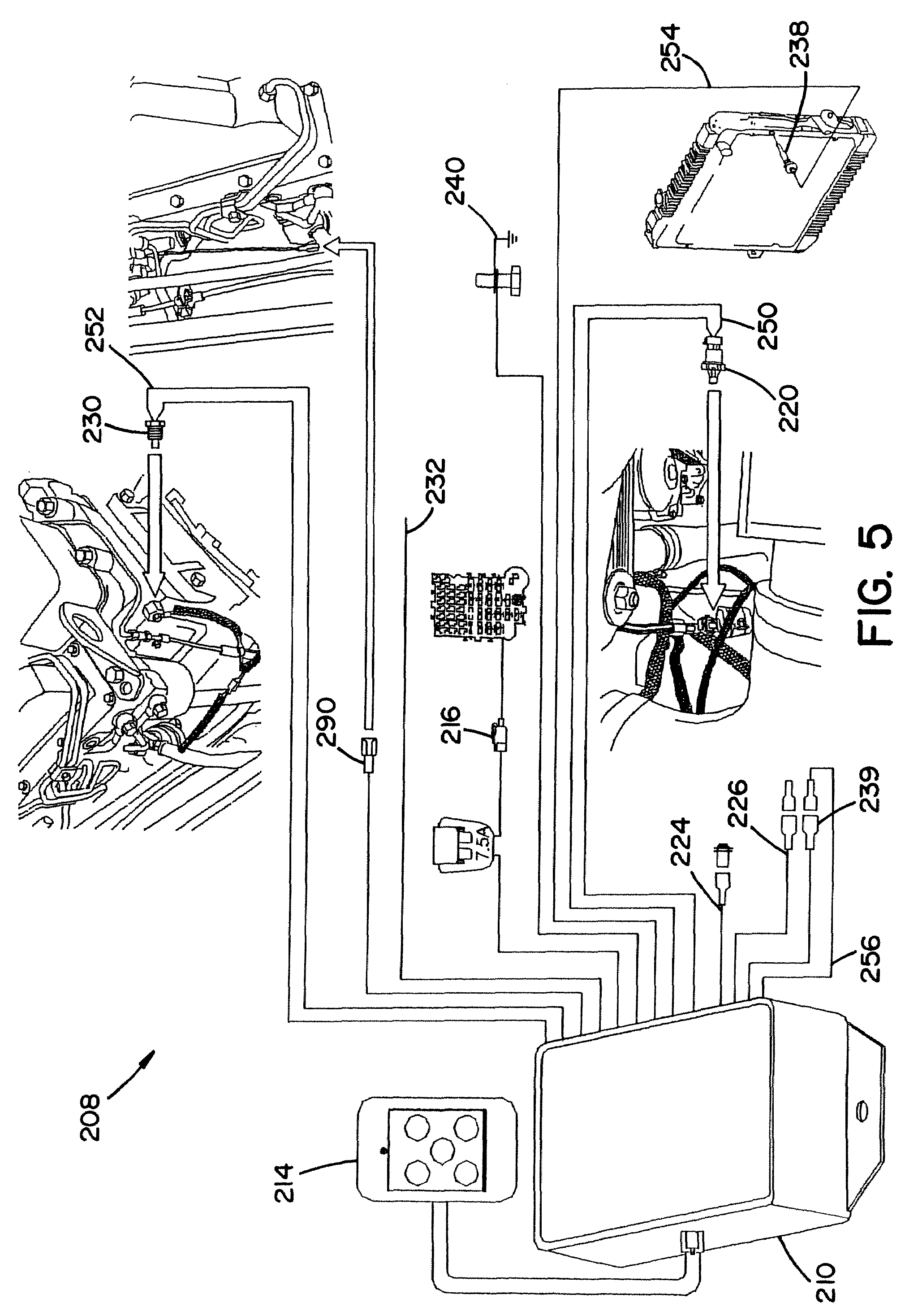 Patent Us7542843 Engine Protection System Google Patents 3 1l Fuel Flow Diagram Drawing