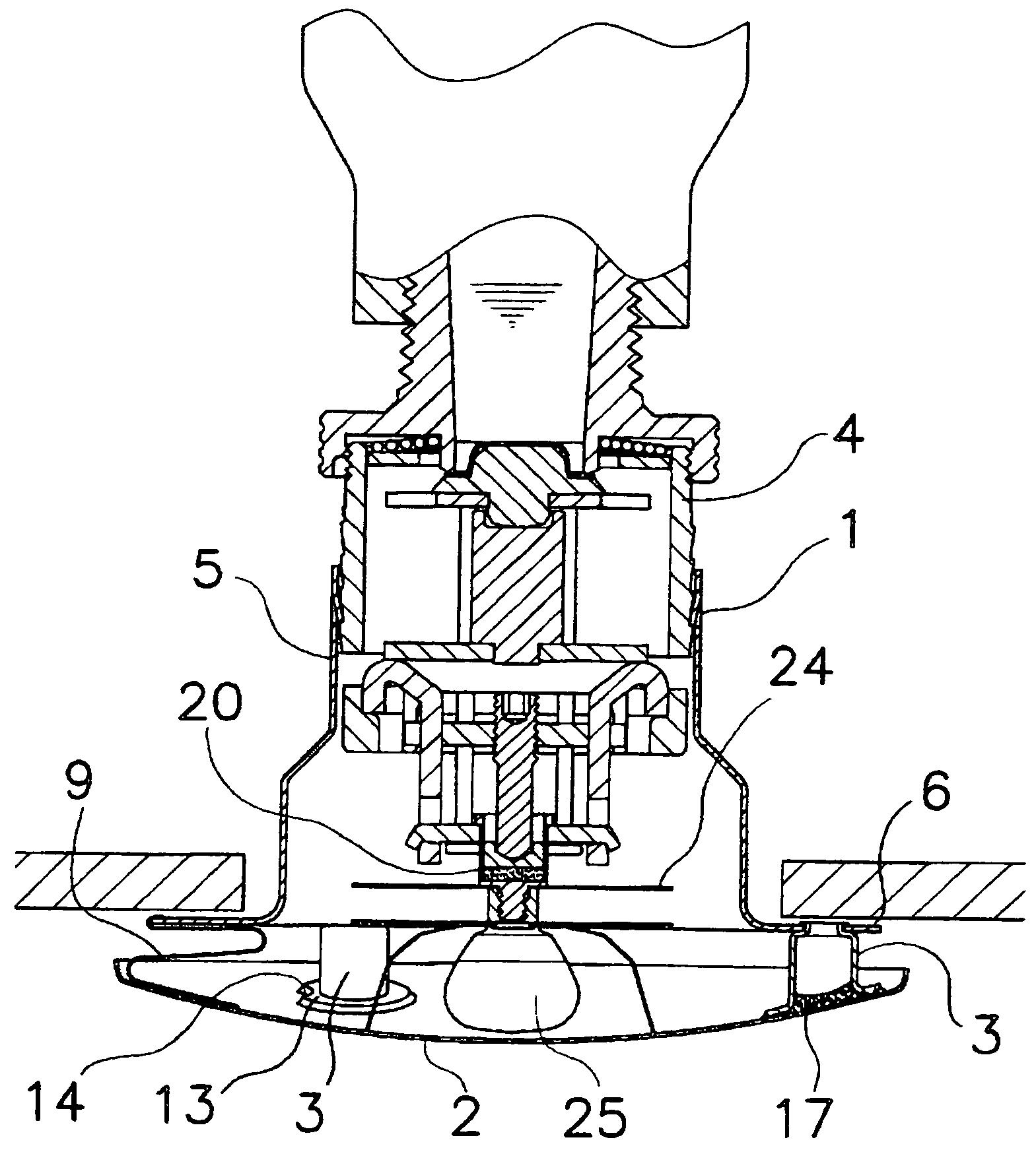 patent us7543654 - sprinkler head cover and a sprinkler head