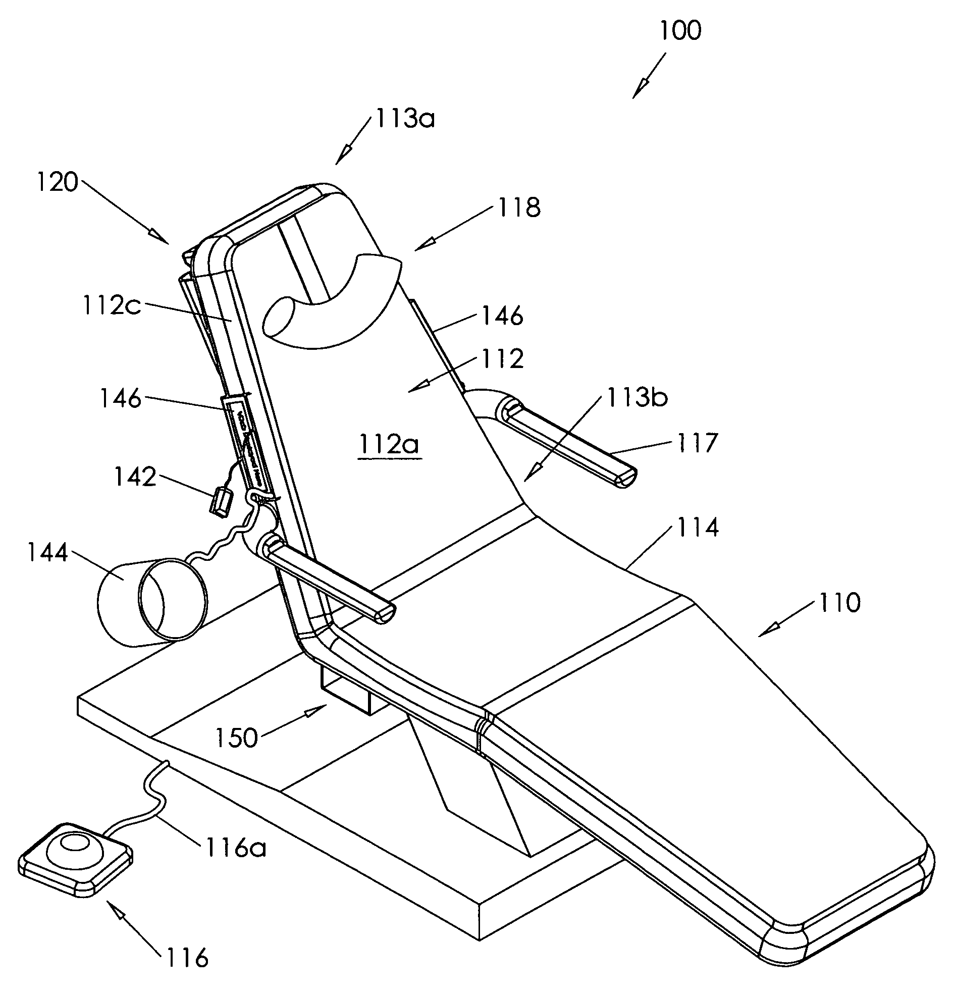 Patent US Safety dental chair Google Patents