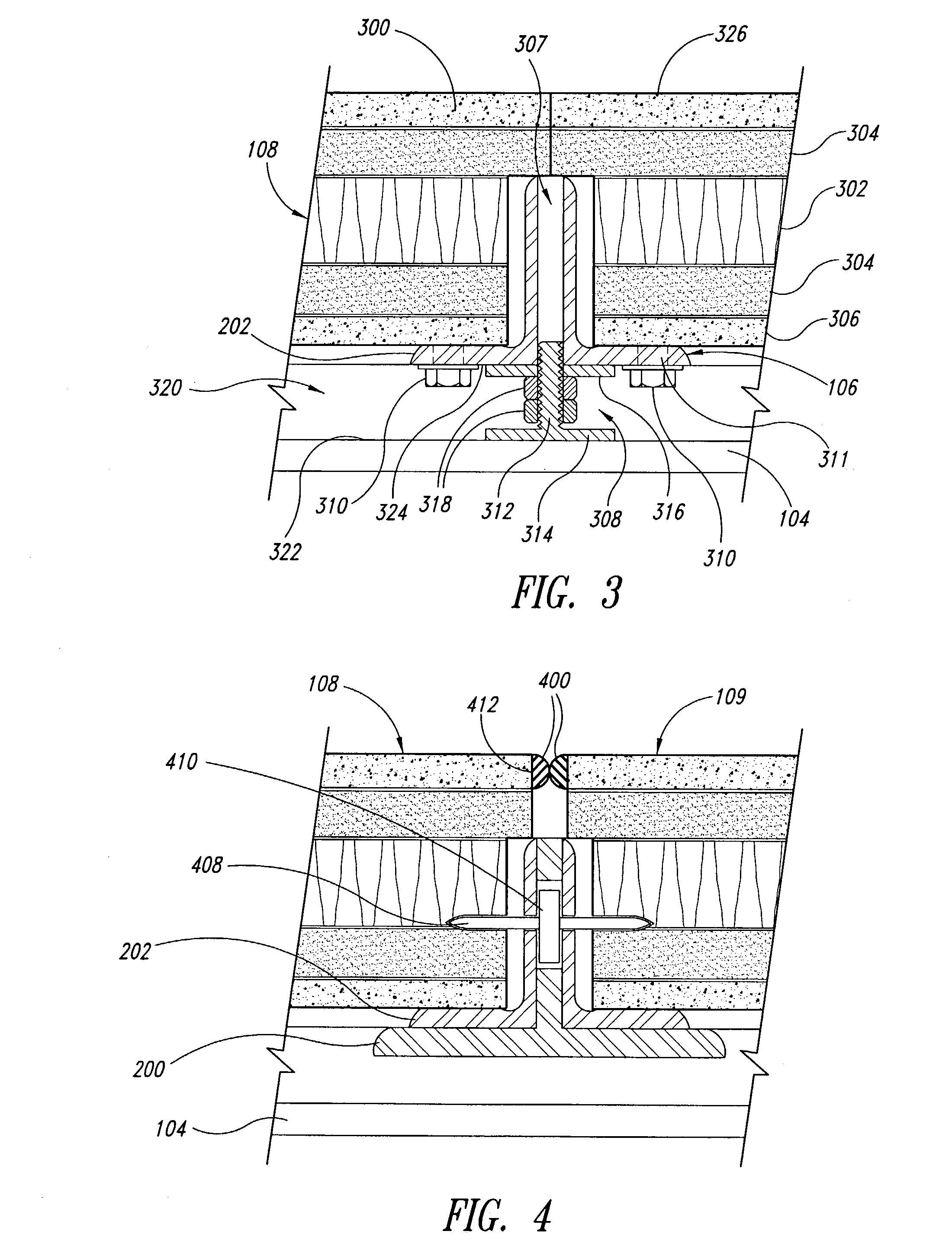 Patent Us7546715 Structurally Integrated Accessible