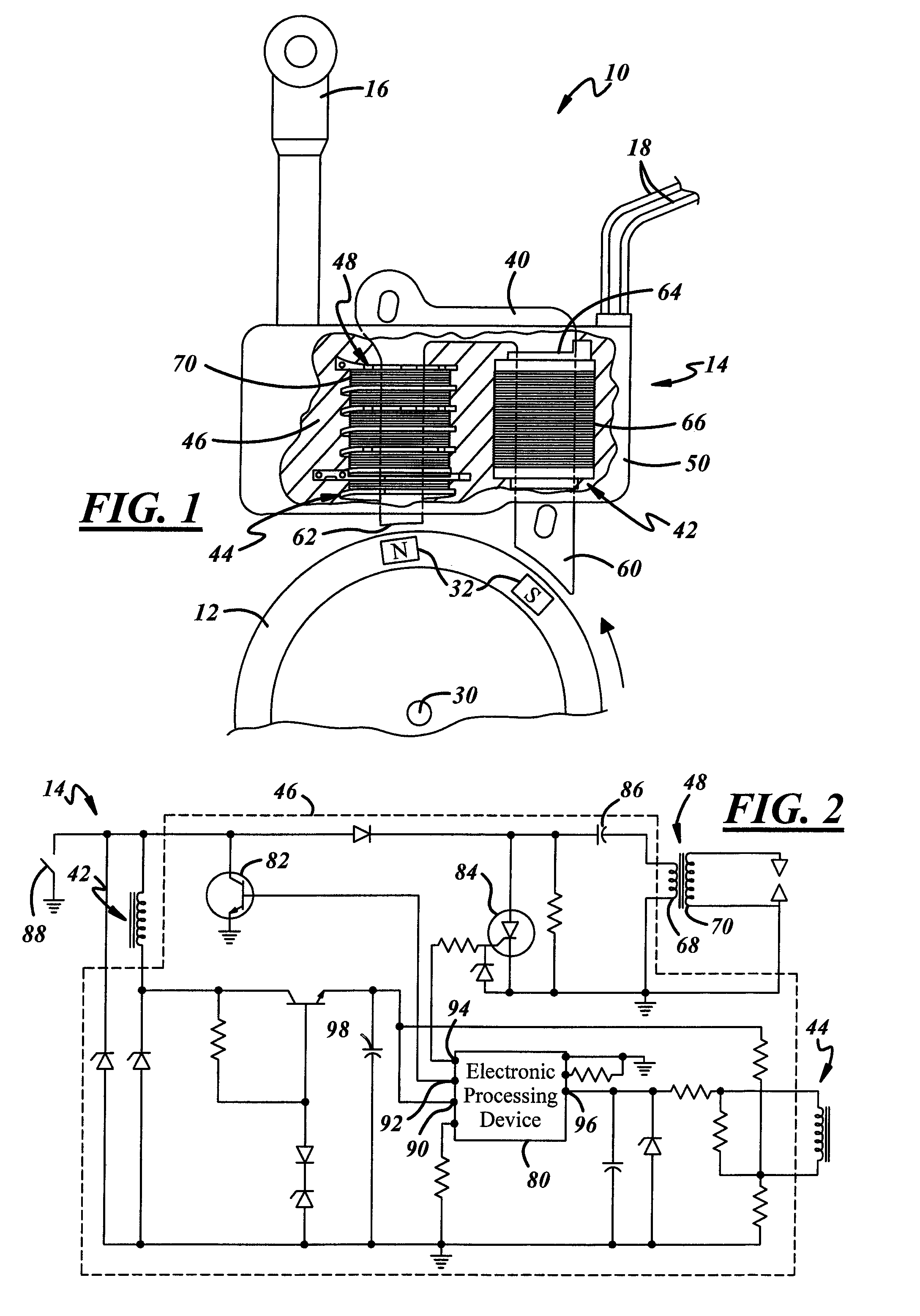 patent us7546836 - ignition module for use with a light-duty internal combustion engine