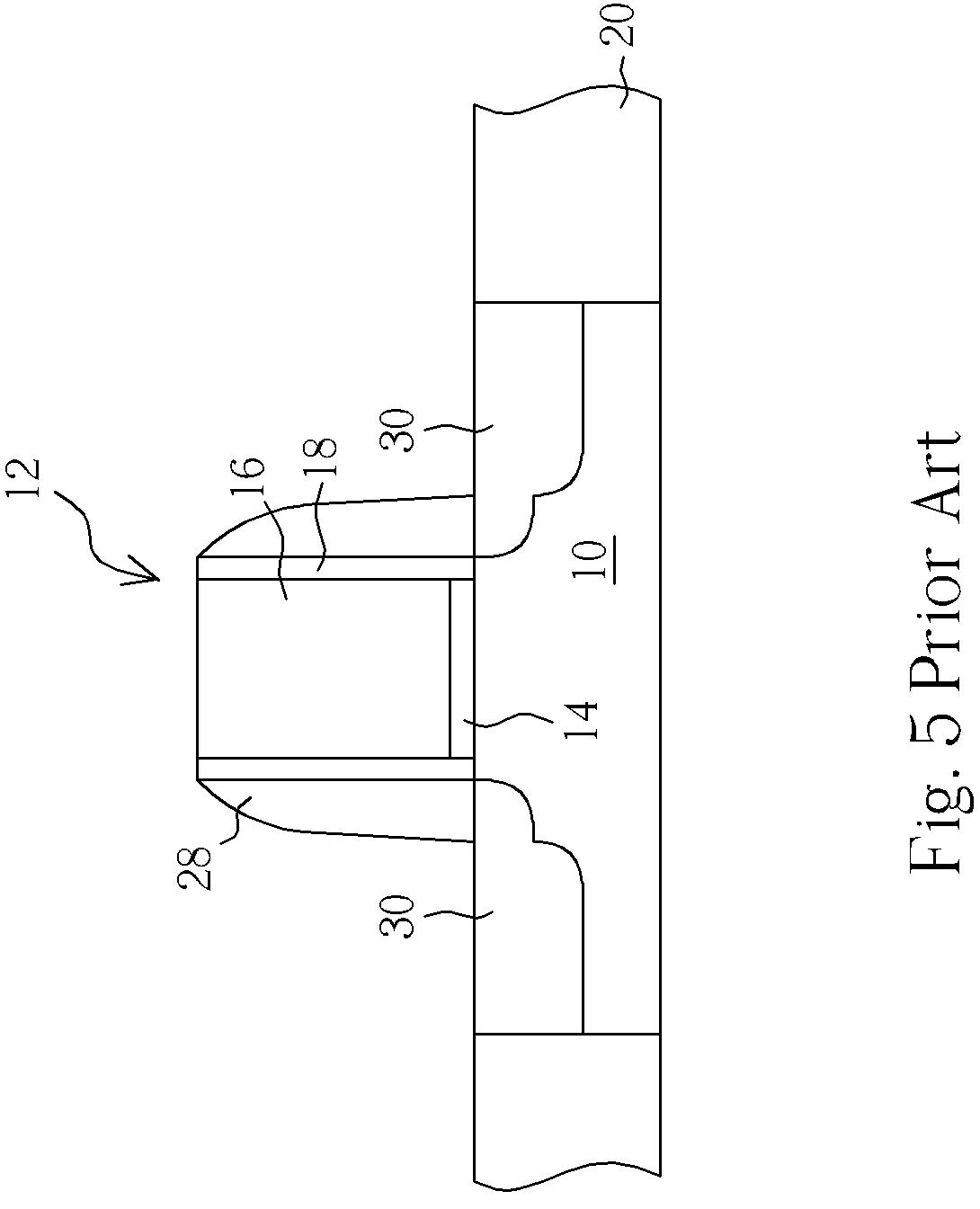 fabricating an nmos