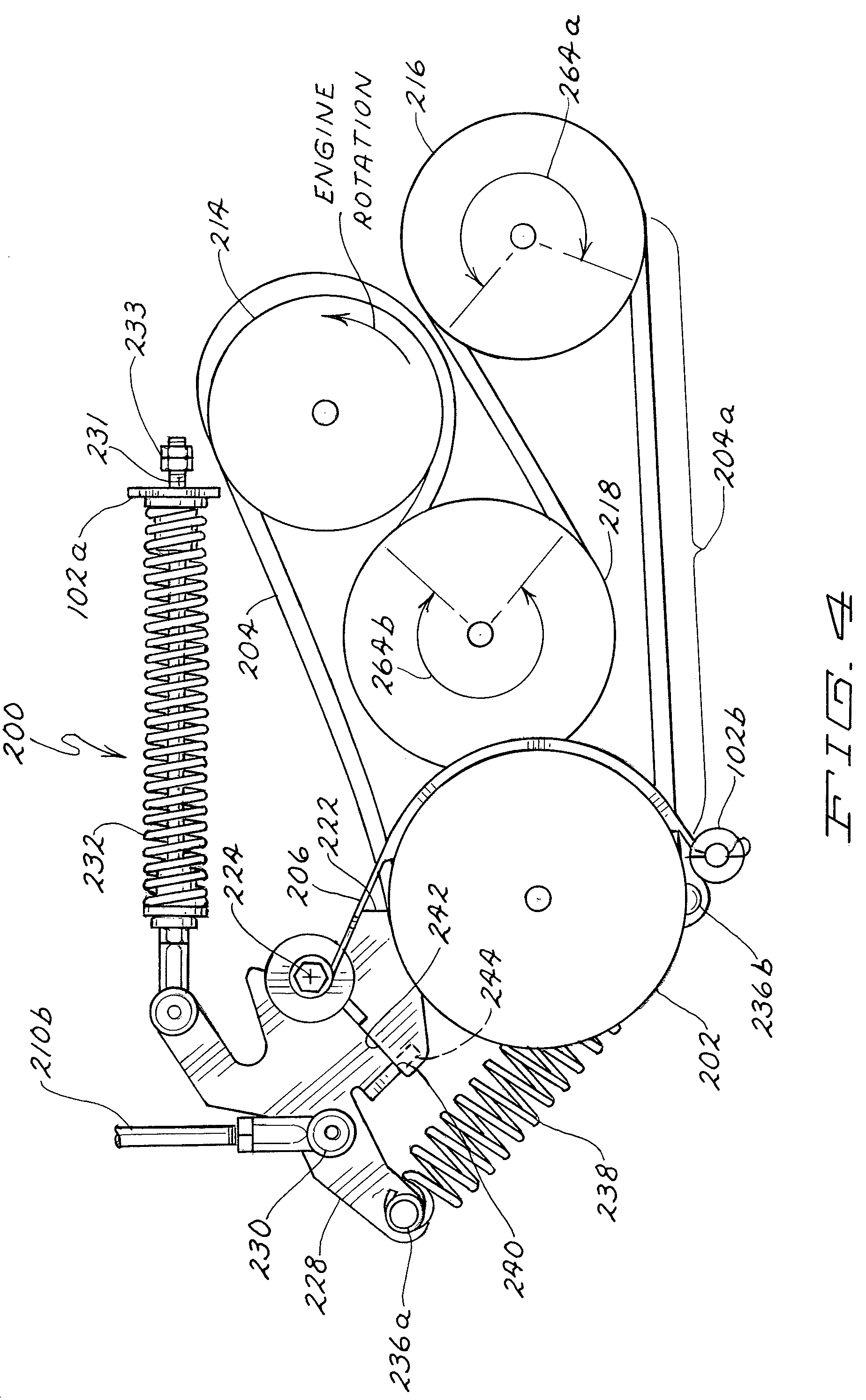 Patent US7553248 - Belt drive system incorporating fixed brake ...