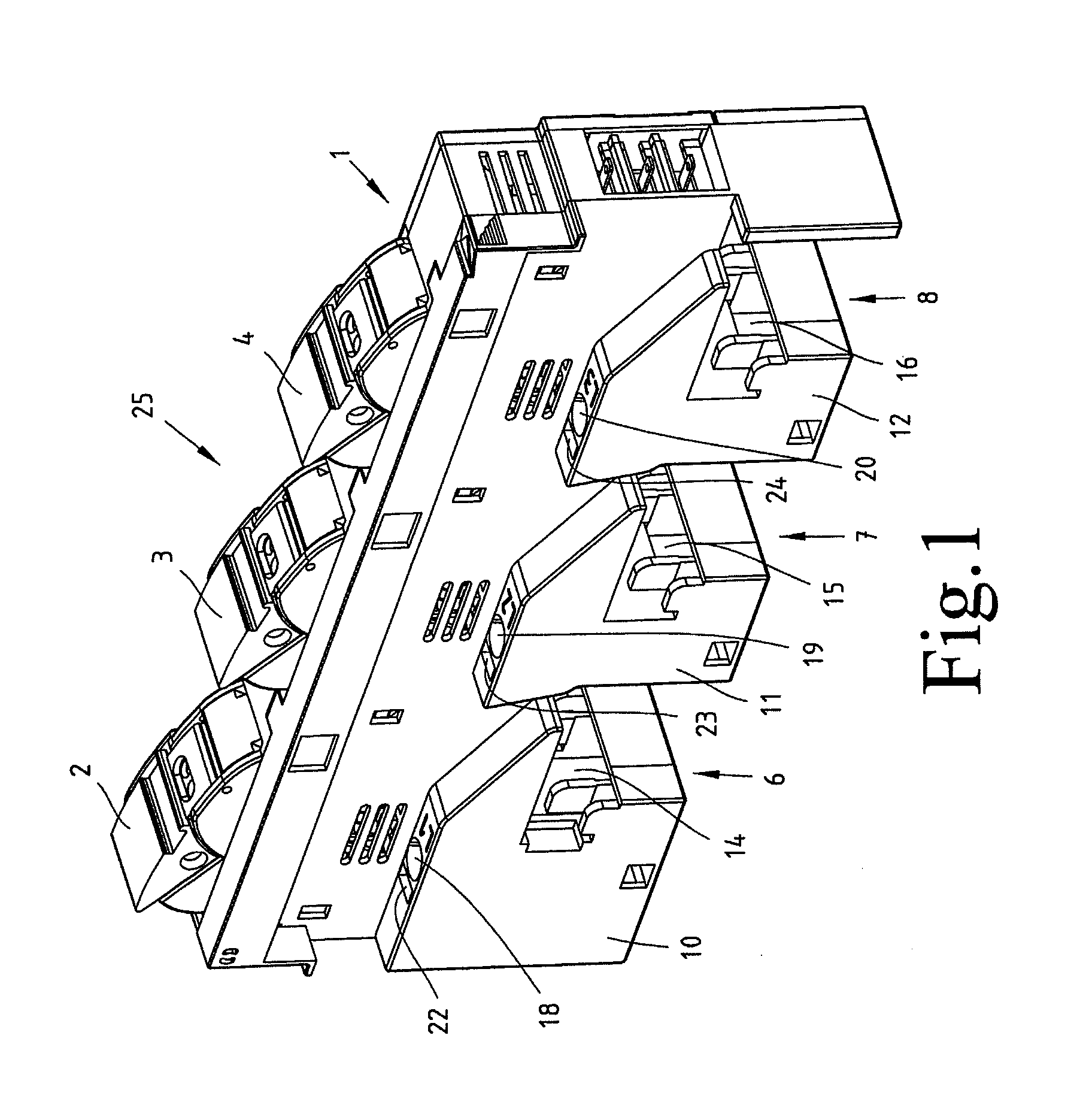 Patent Drawing: 12 Volt Fuse Box Enclosed At Chusao.net