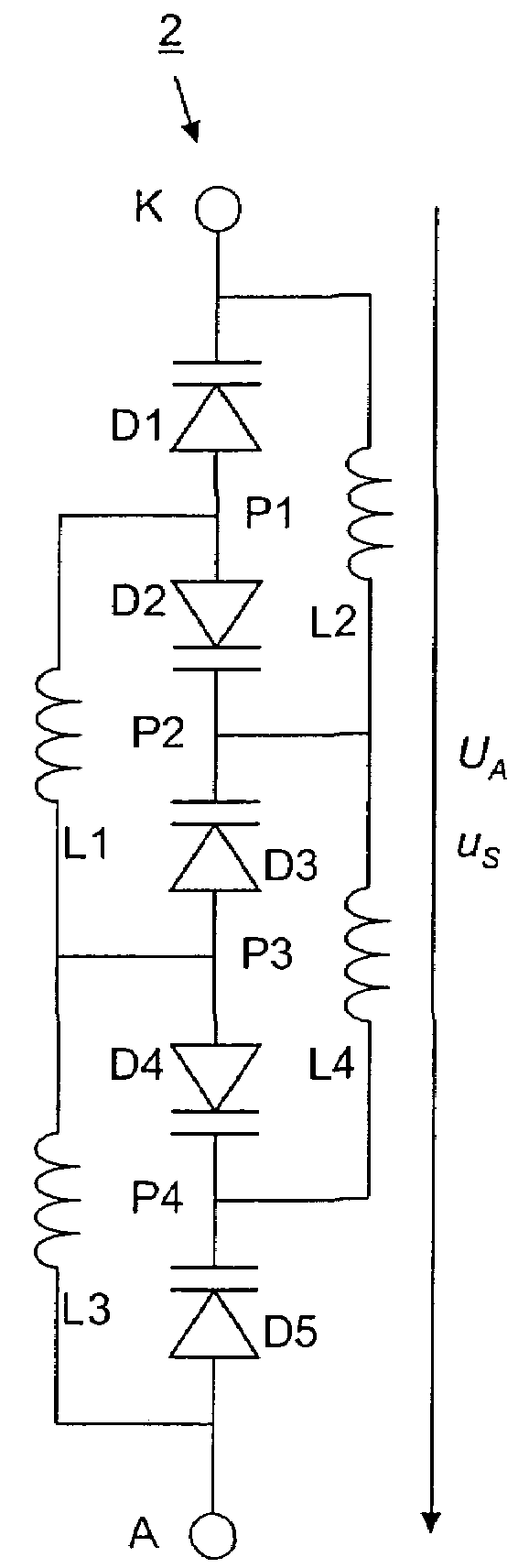 Patent Us7567120 Varactor Diode Alternative Circuit Google Patents Direct Fm Modulation Diagram Composed Of Low Drawing