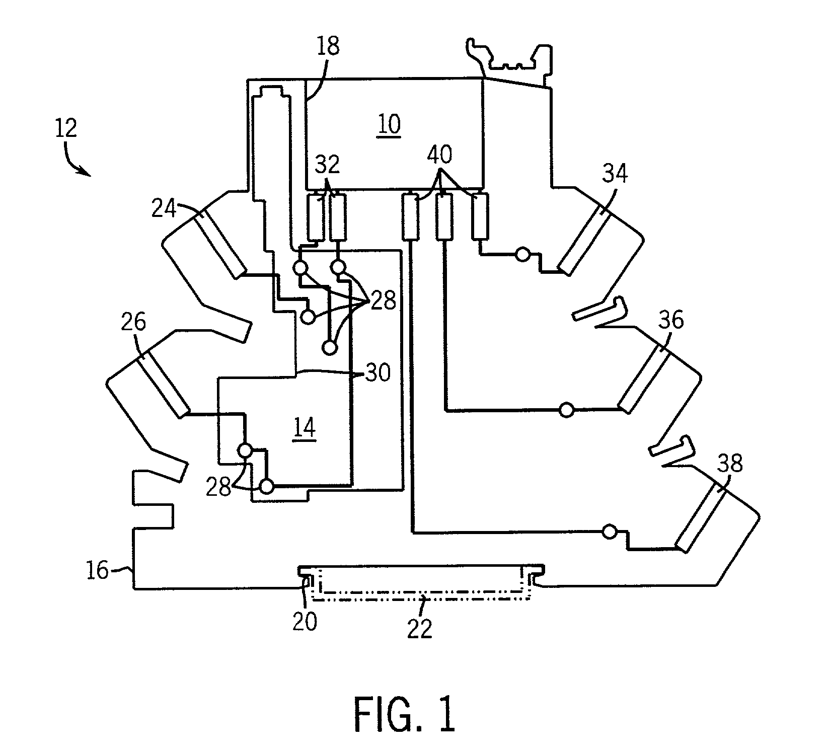 US07576958 20090818 D00001 patent us7576958 relay socket with leakage current suppression,Current Relay Wiring