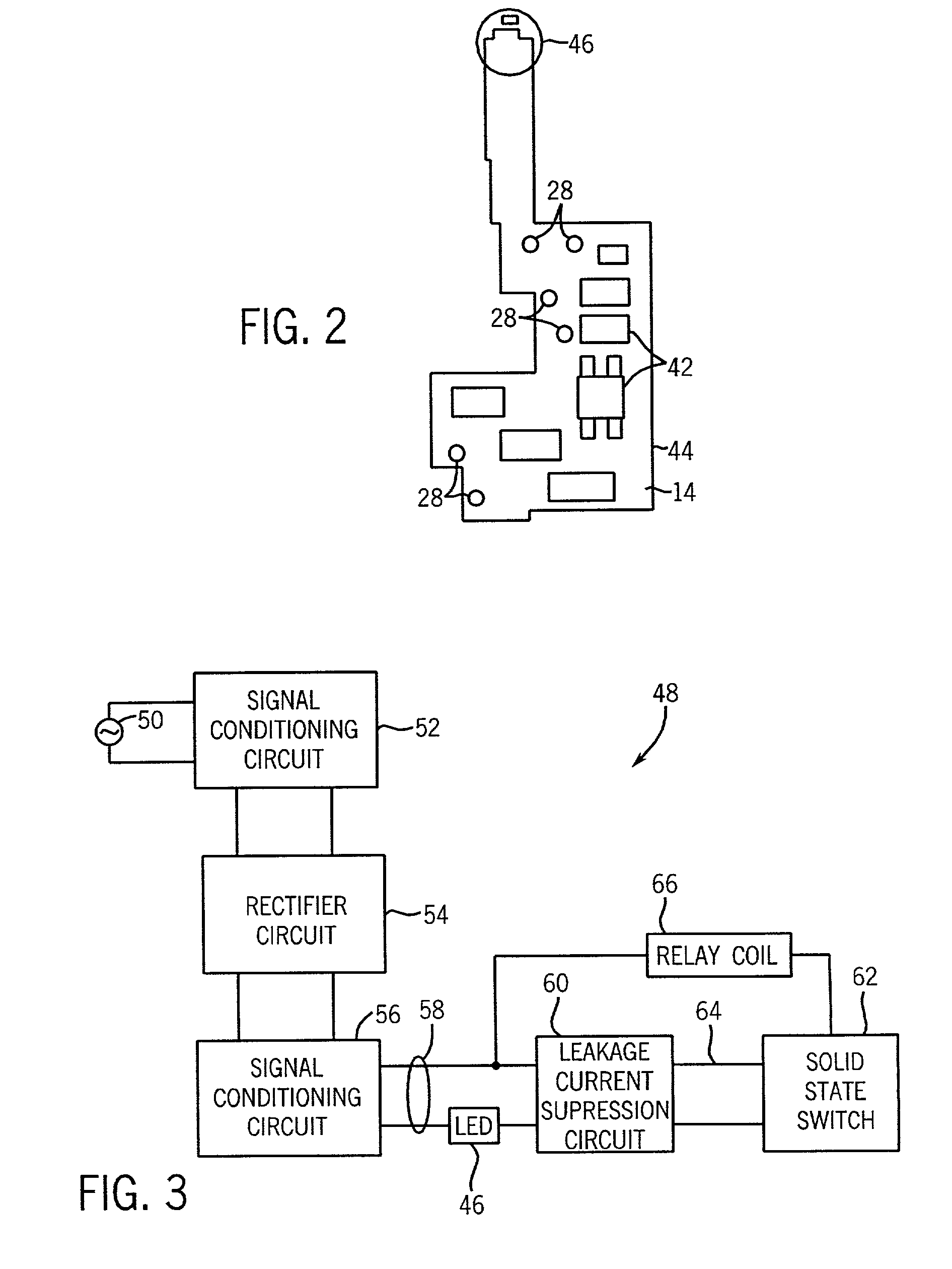 US07576958 20090818 D00002 patent us7576958 relay socket with leakage current suppression,Current Relay Wiring