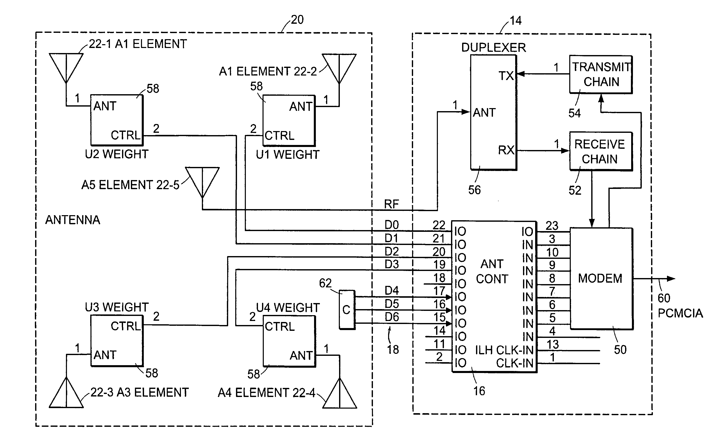 patent us intelligent interface for controlling an patent drawing
