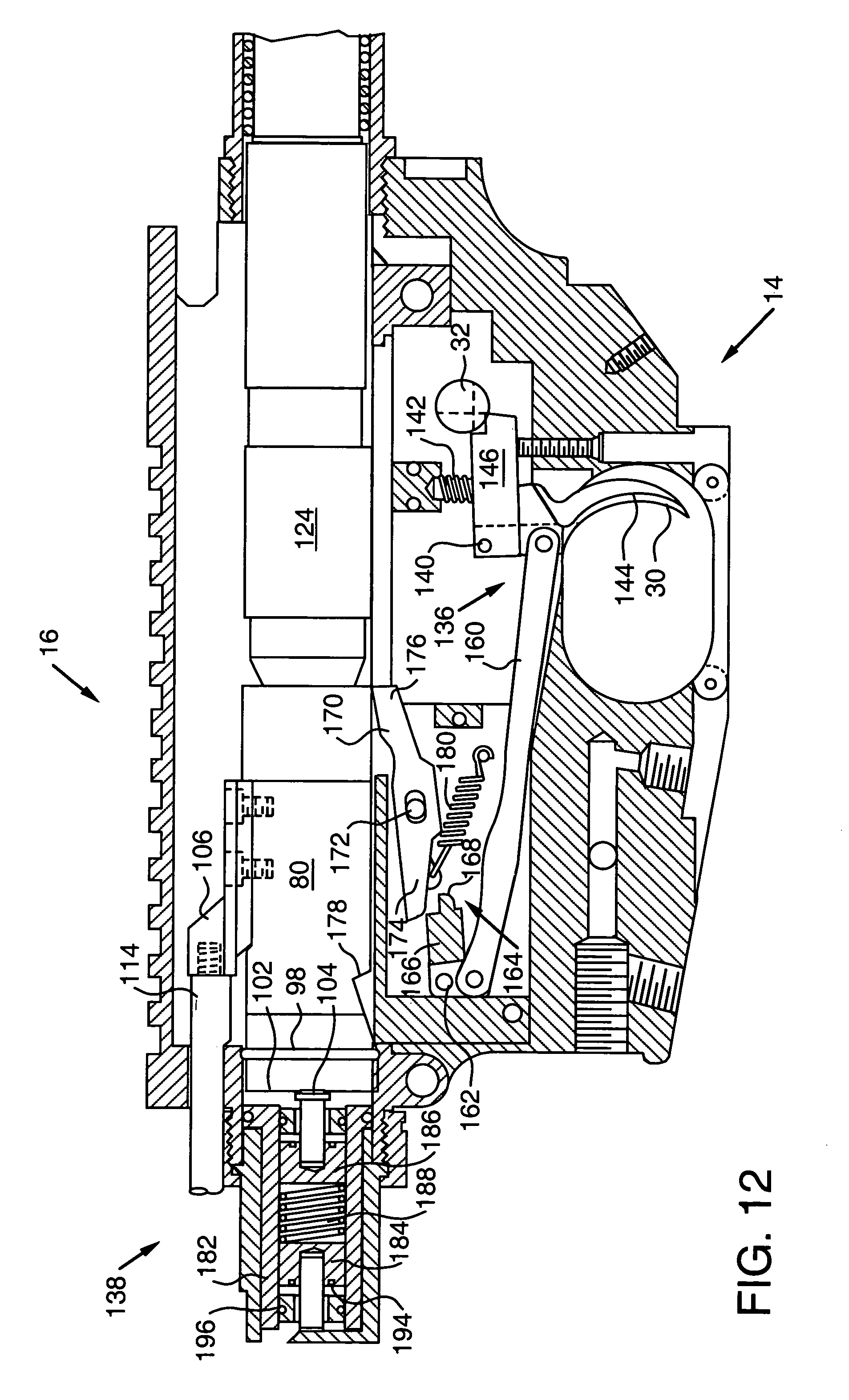 Patent Us7581954 Firearms Training Simulator Simulating The Recoil Tippmann Model 98 Schematic Drawing