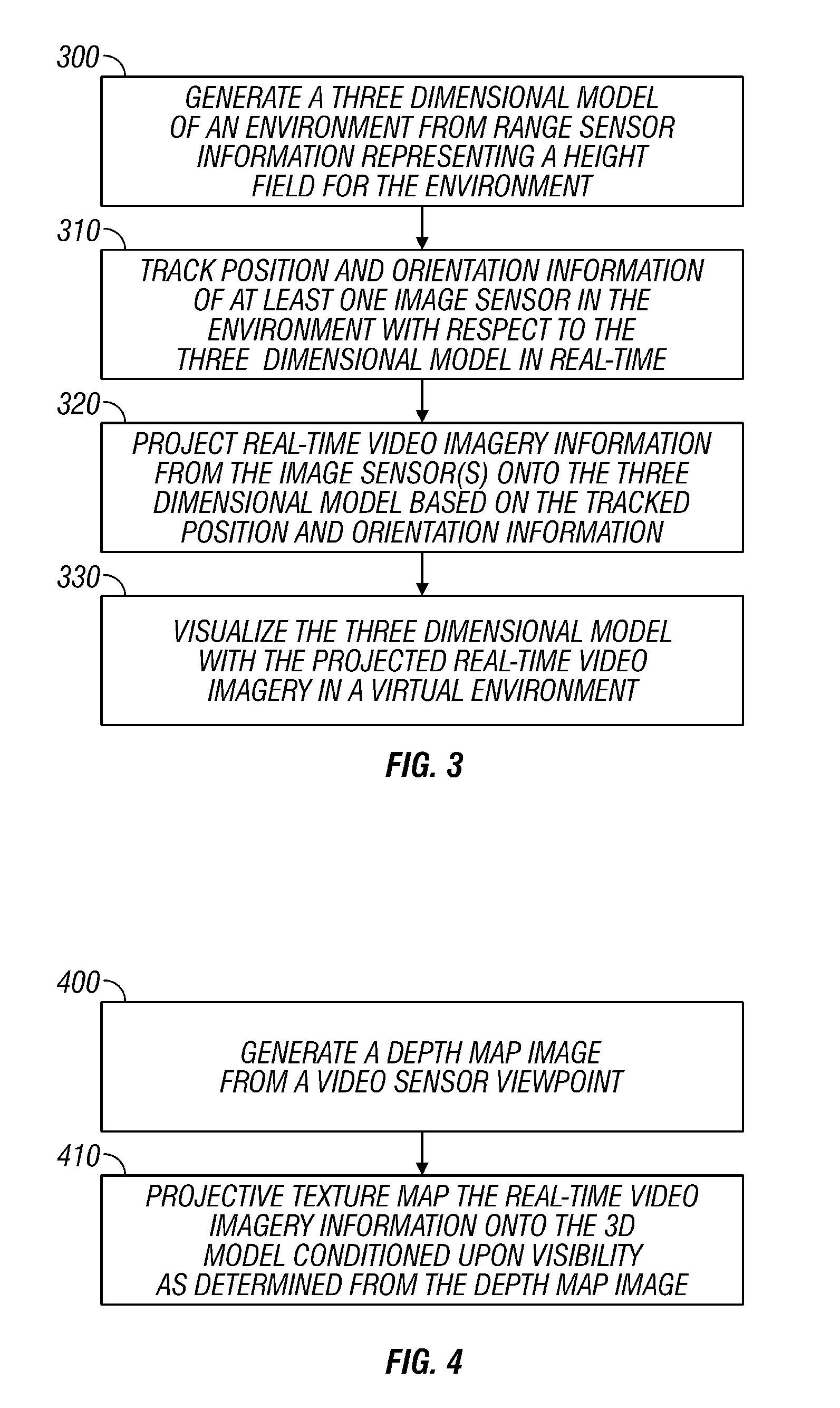 Patent US7583275 - Modeling and video projection for augmented ...
