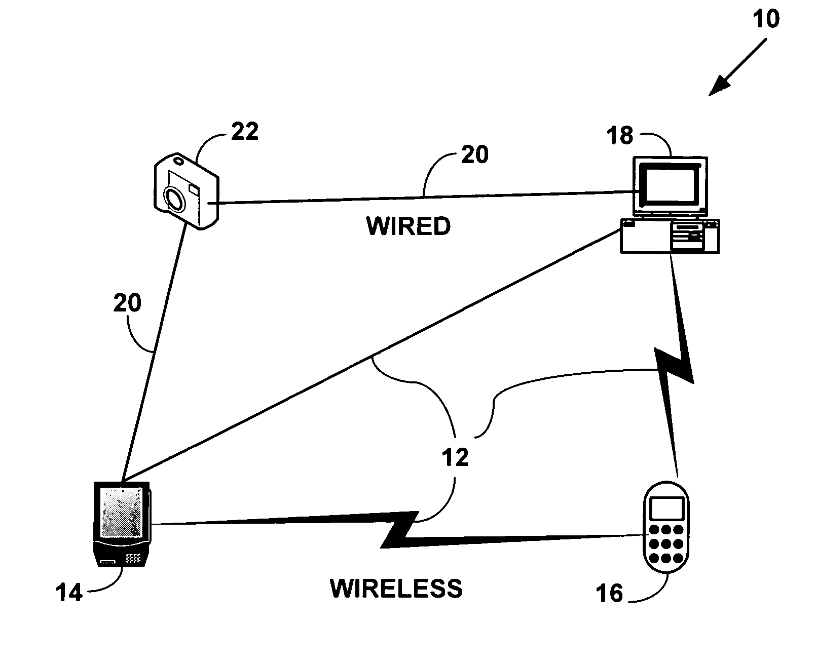 patent us7586888 - method and system for mesh network embedded devices