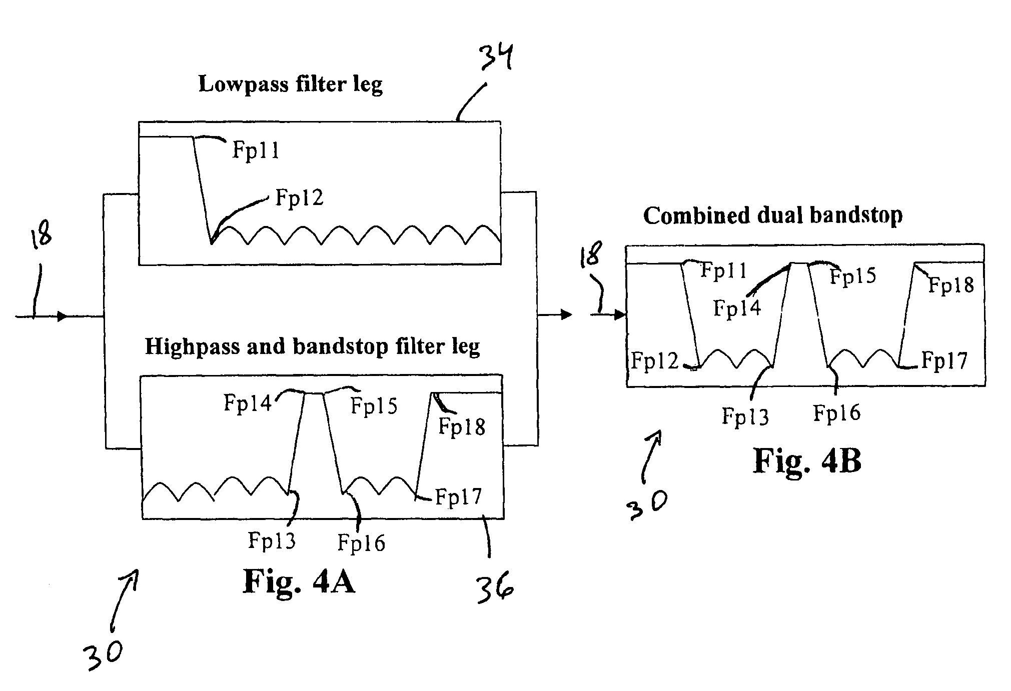 Patent Us7592882 Dual Bandstop Filter With Enhanced Upper Passband How To Troubleshoot This Circuit Electrical Drawing