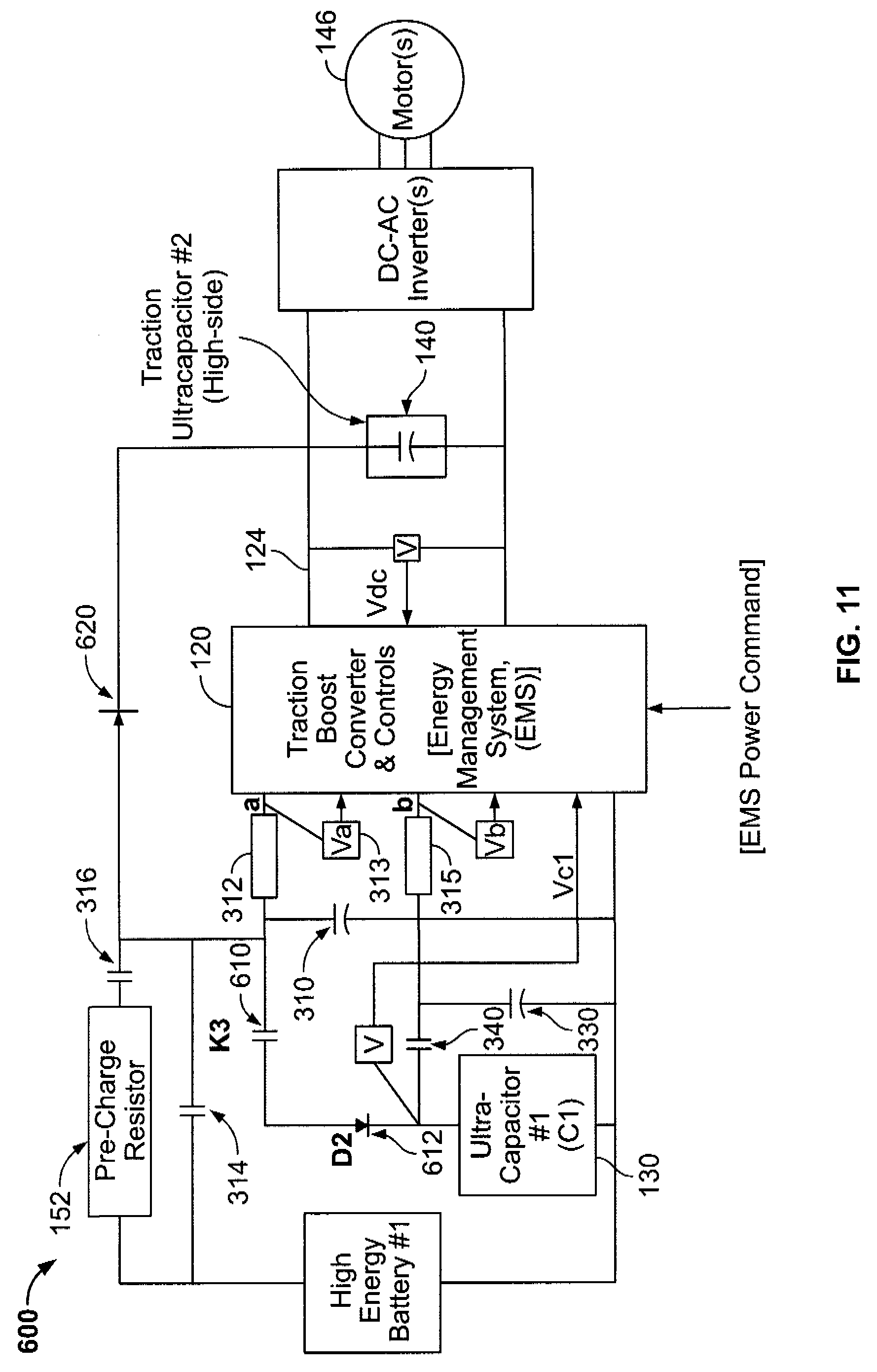 patent us7595597 - vehicle propulsion system