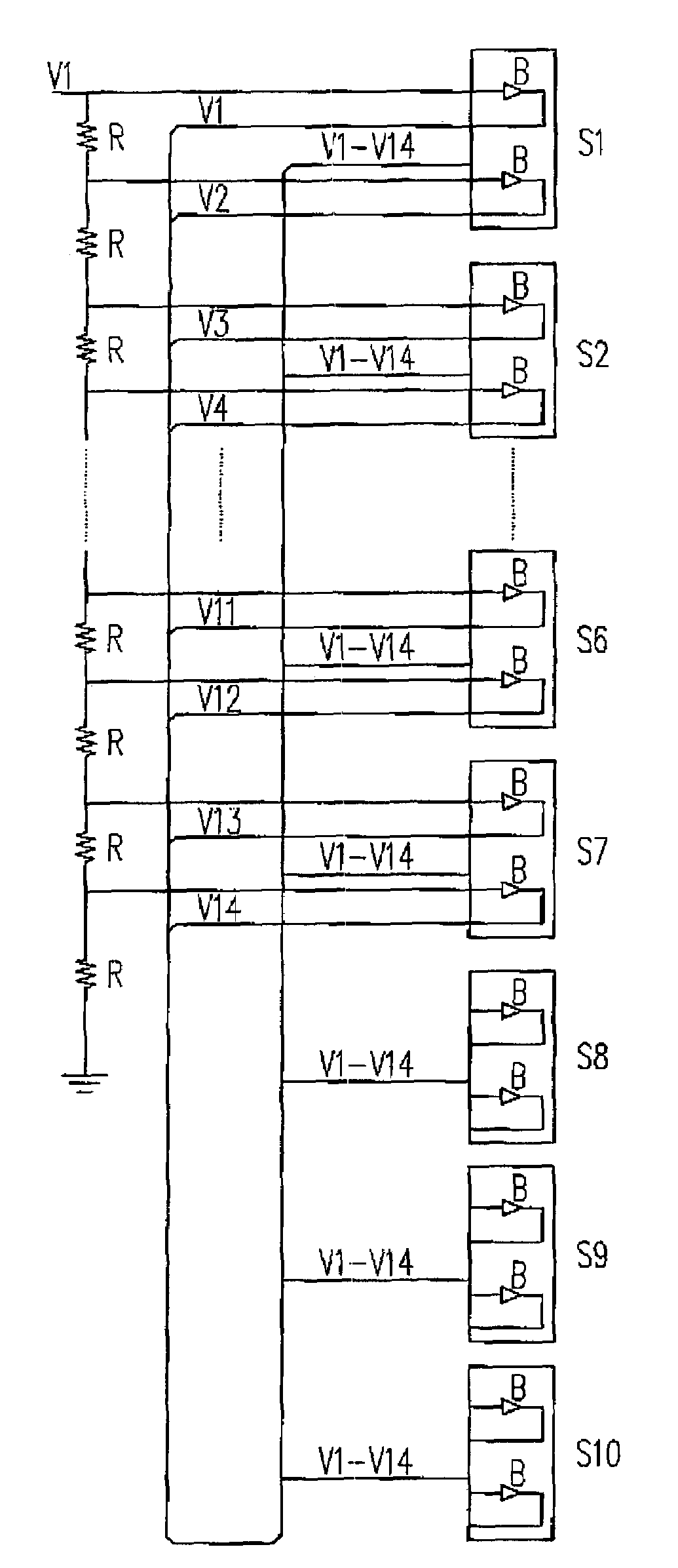 Patent Us7595658 Voltage Divider Circuit Google Patents Diagram Drawing