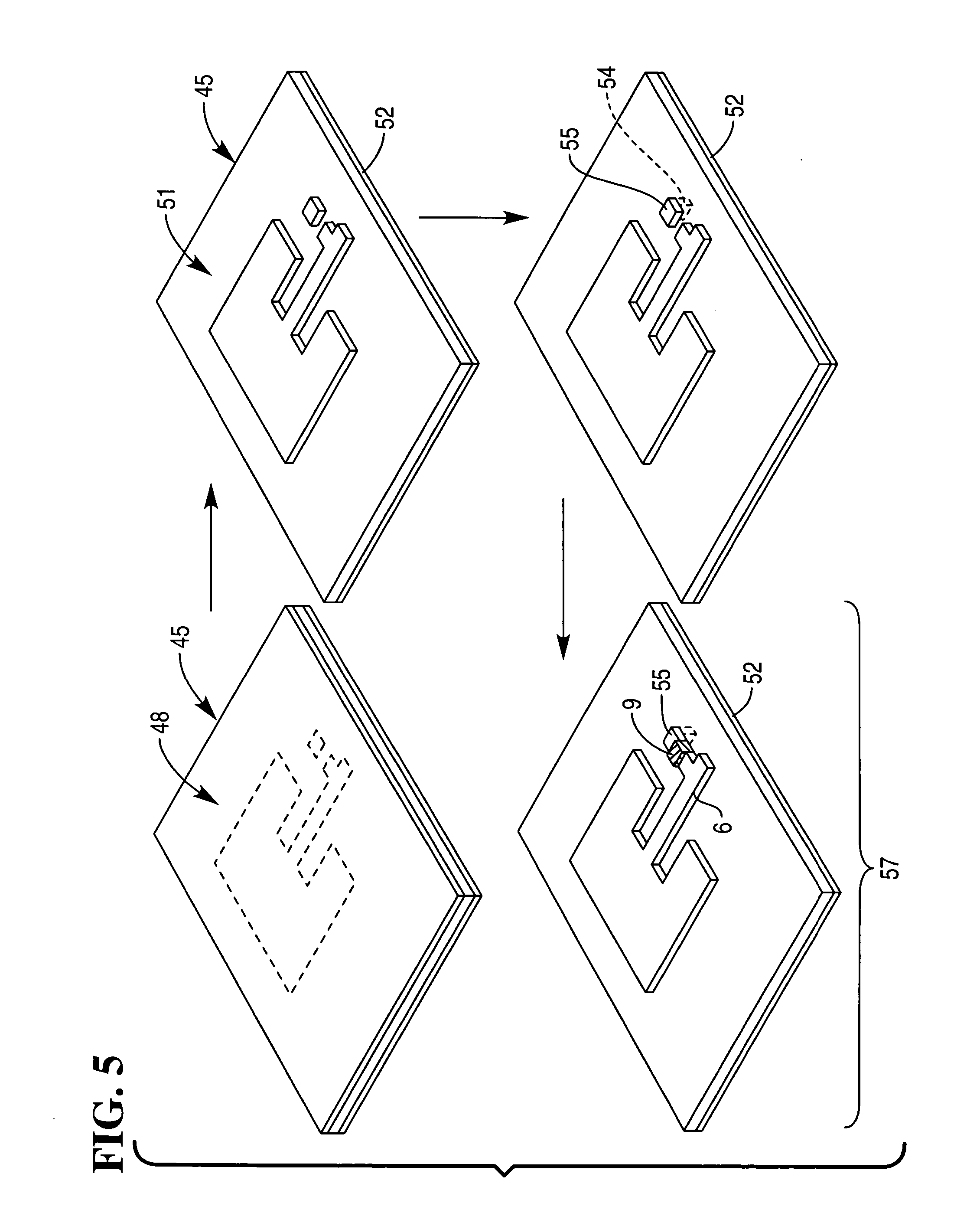 patent us7605706 - patch antenna for rfid tag