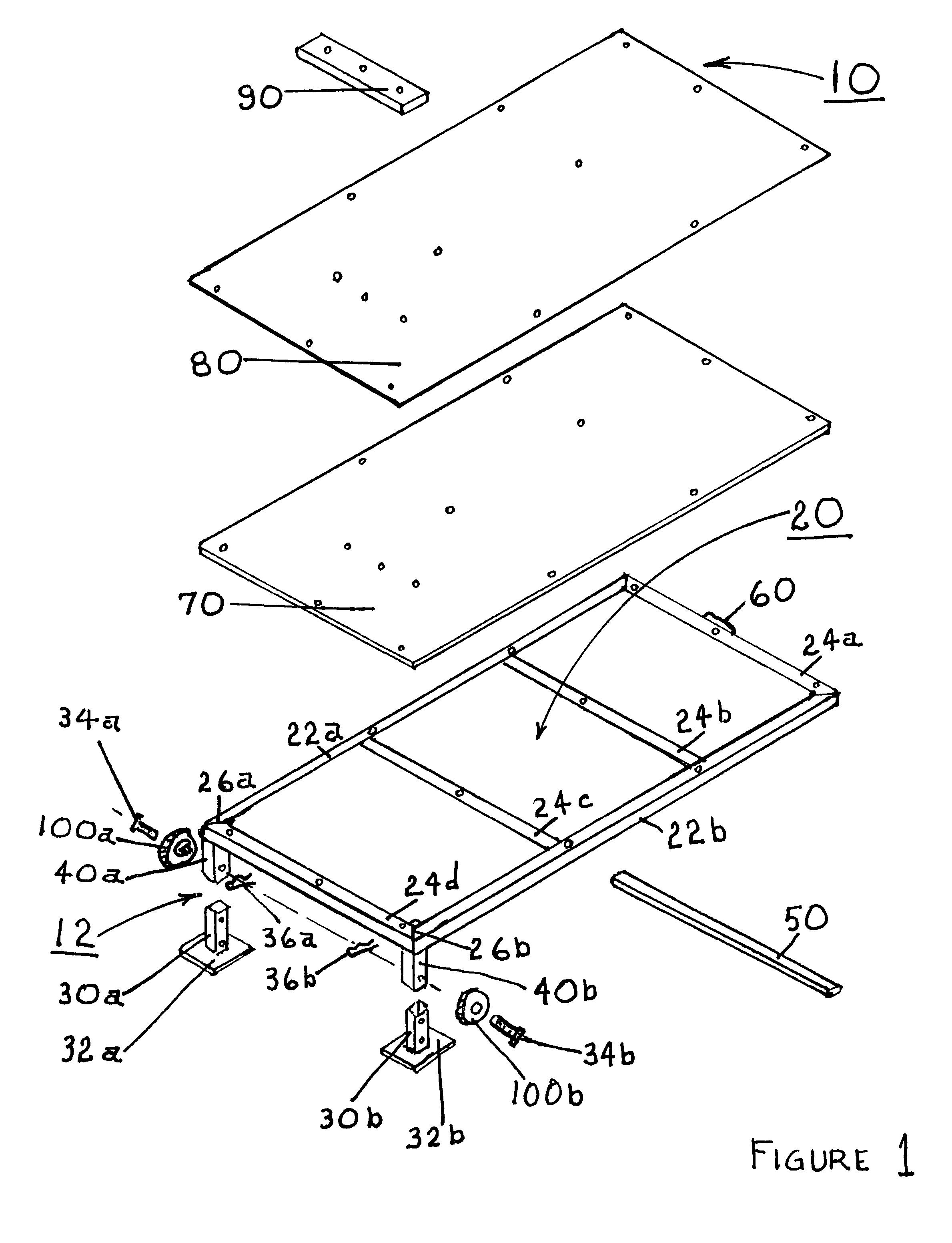 Patent US7621831 - Portable pitching mound - Google Patents
