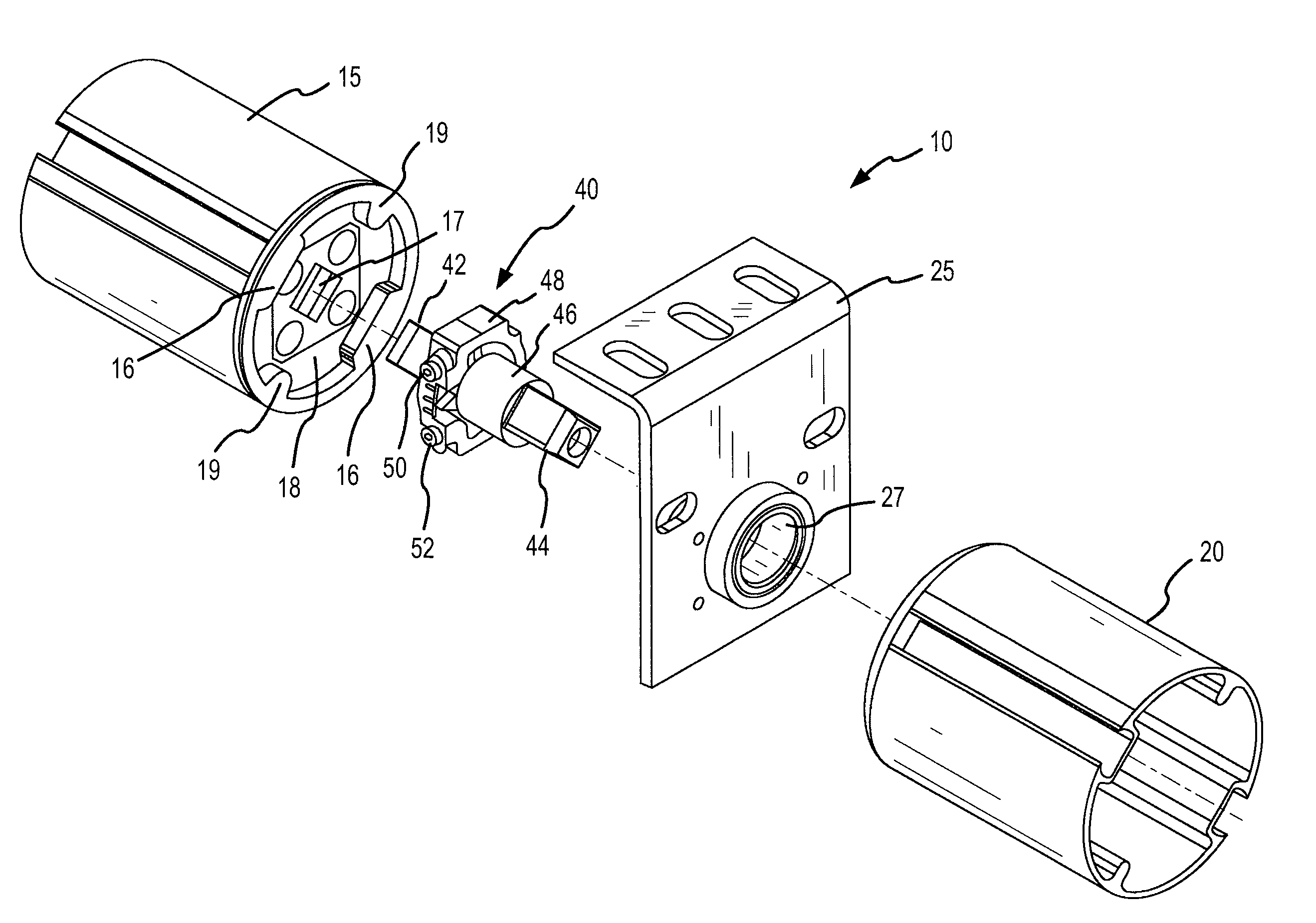 Patent Us7625151 System And Method For An Adjustable