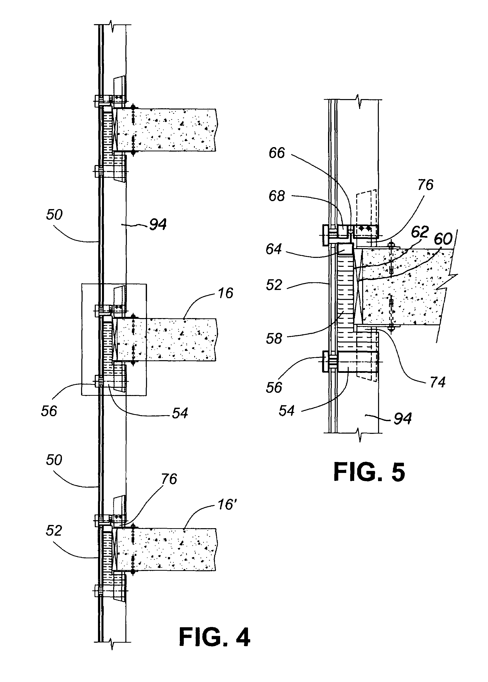Patente Us7644549 Hybrid Window Wall Curtain Wall System And Method Of Installation Patentes