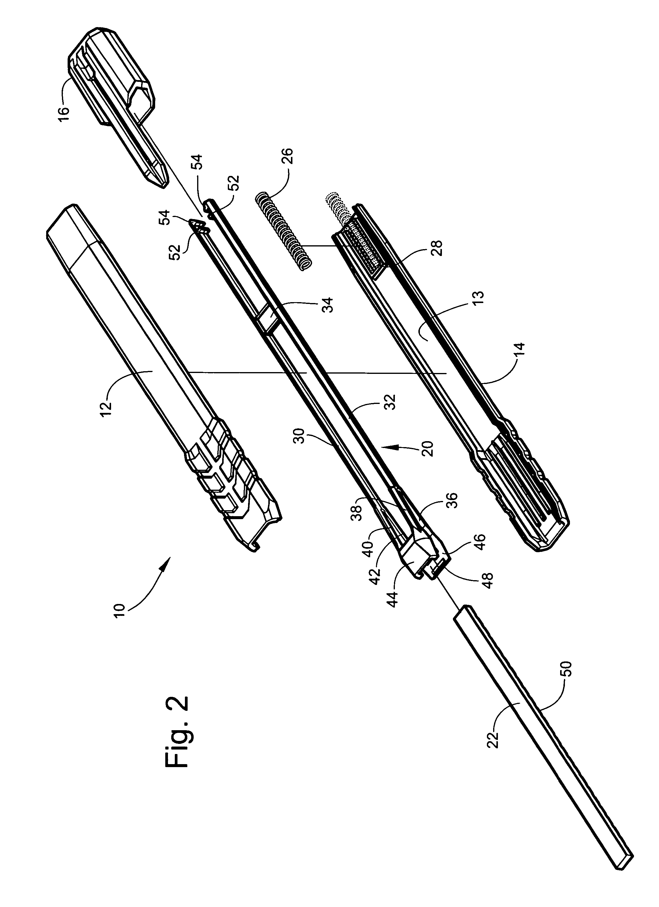 patent us7645083 - mechanical pencil