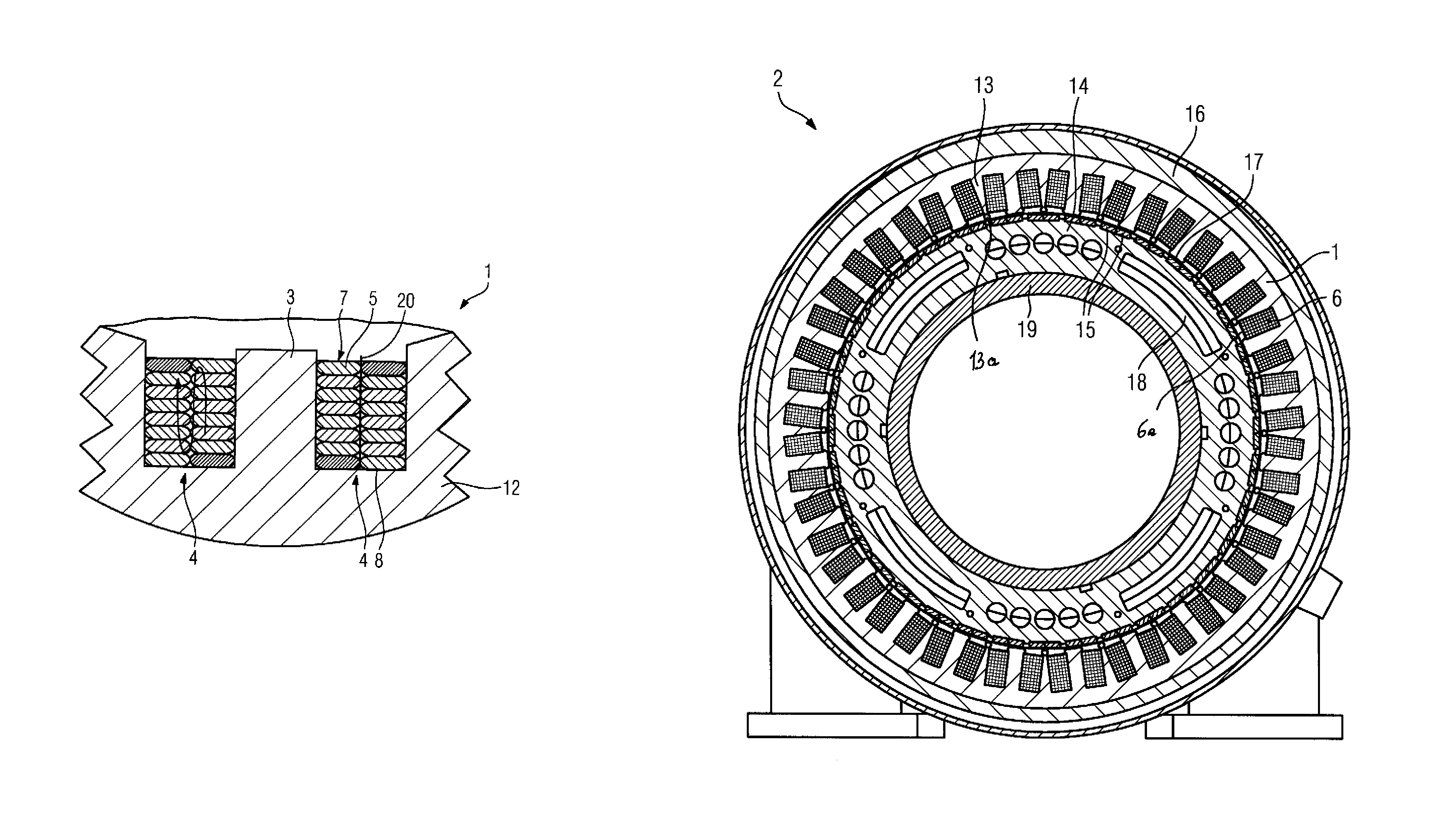 patent us7646131 permanent magnet synchronous machine flat patent drawing