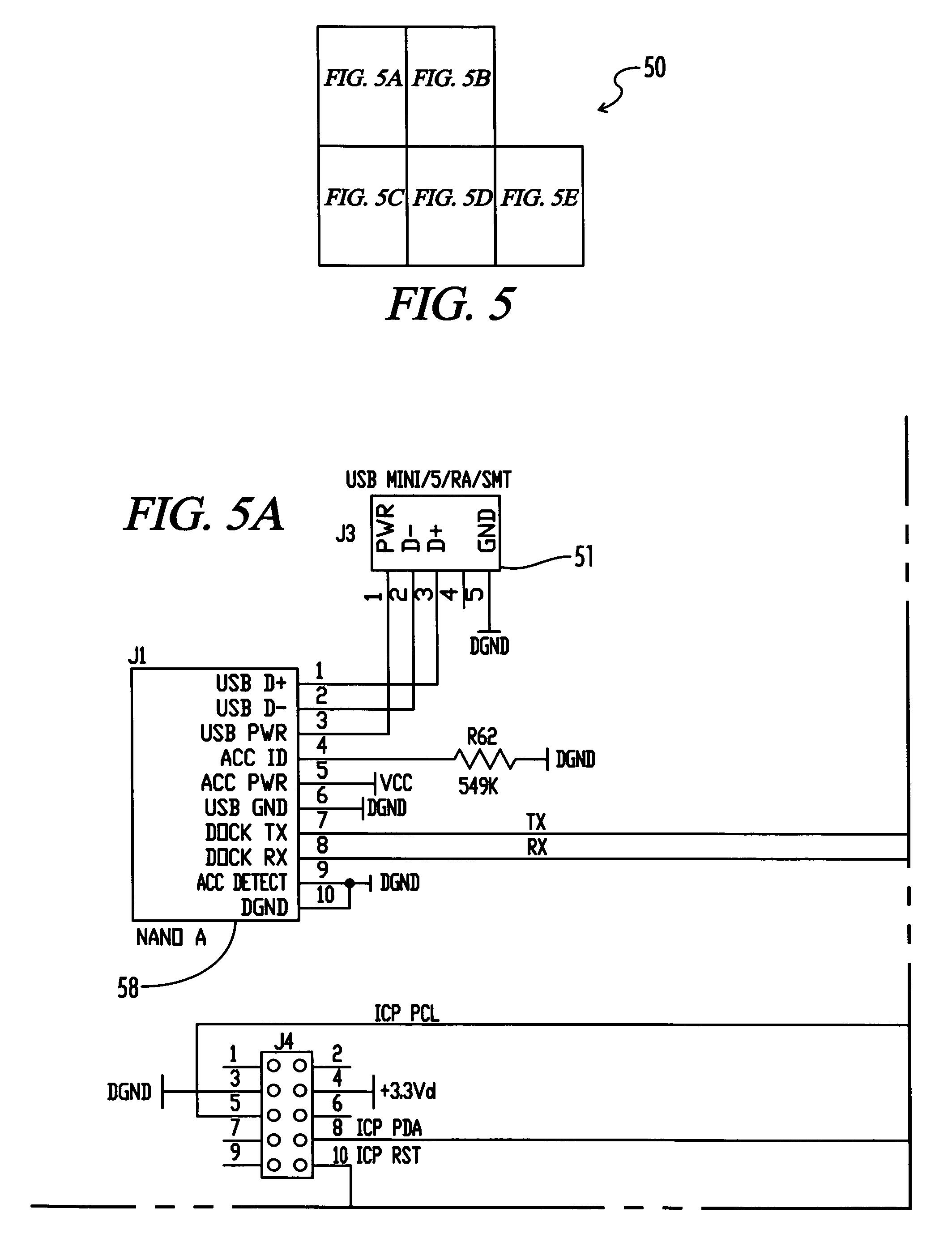 patent us7647129 digital music player accessory interface google rh google com pg griffin itrip circuit diagram griffin itrip circuit diagram