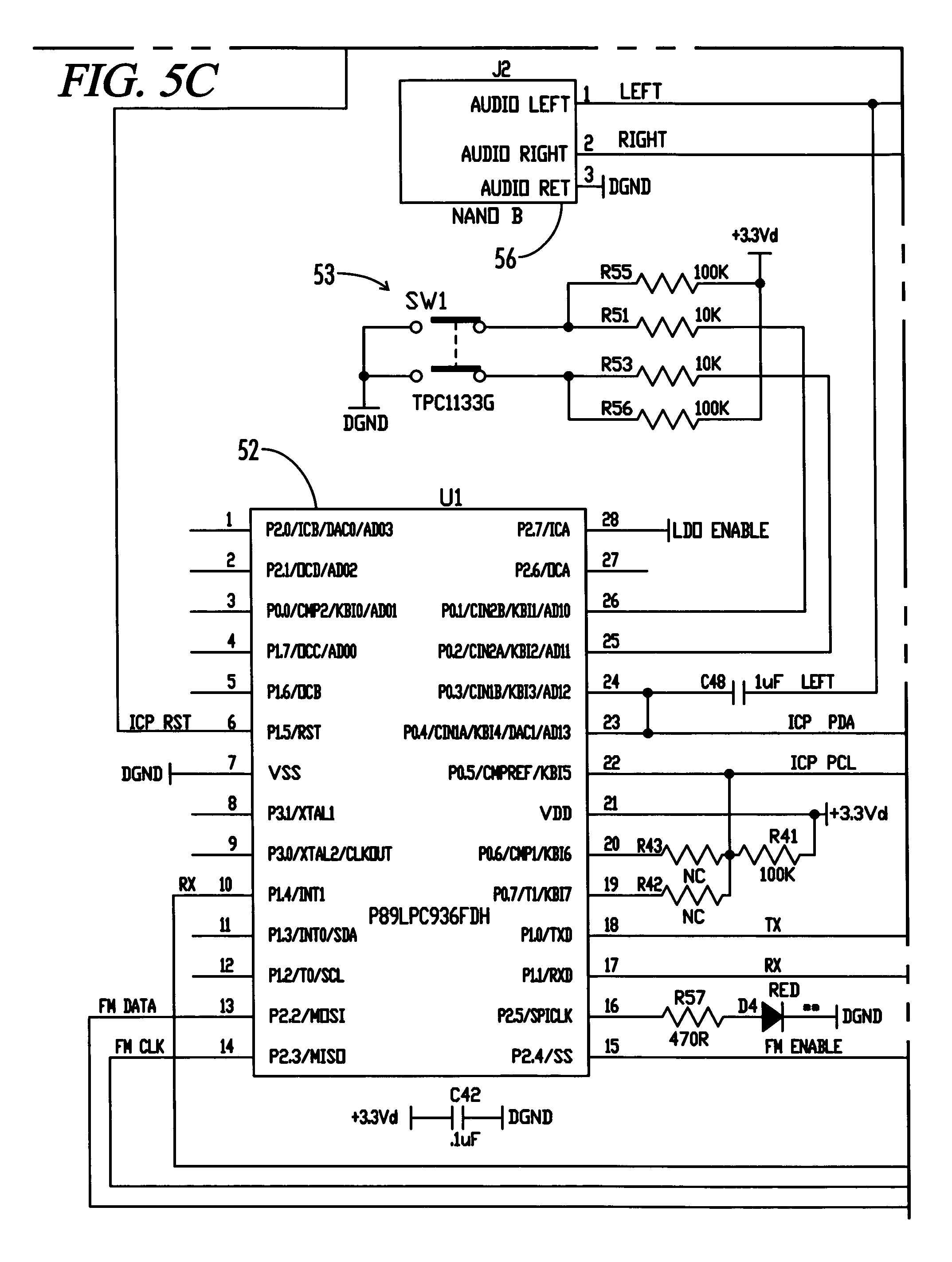Patent US7647129 Digital music player accessory interface – Itrip Wiring-diagram