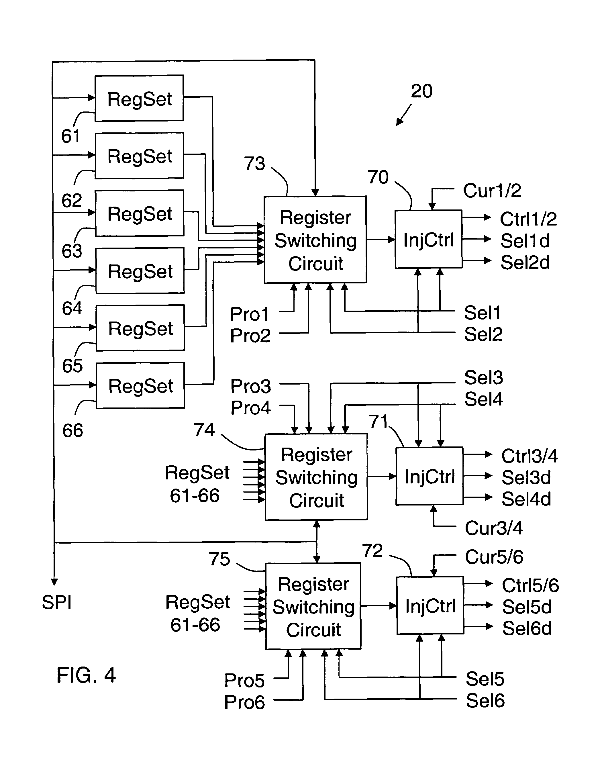 Fuel Injector Output Driver Circuit Performance Bank 1