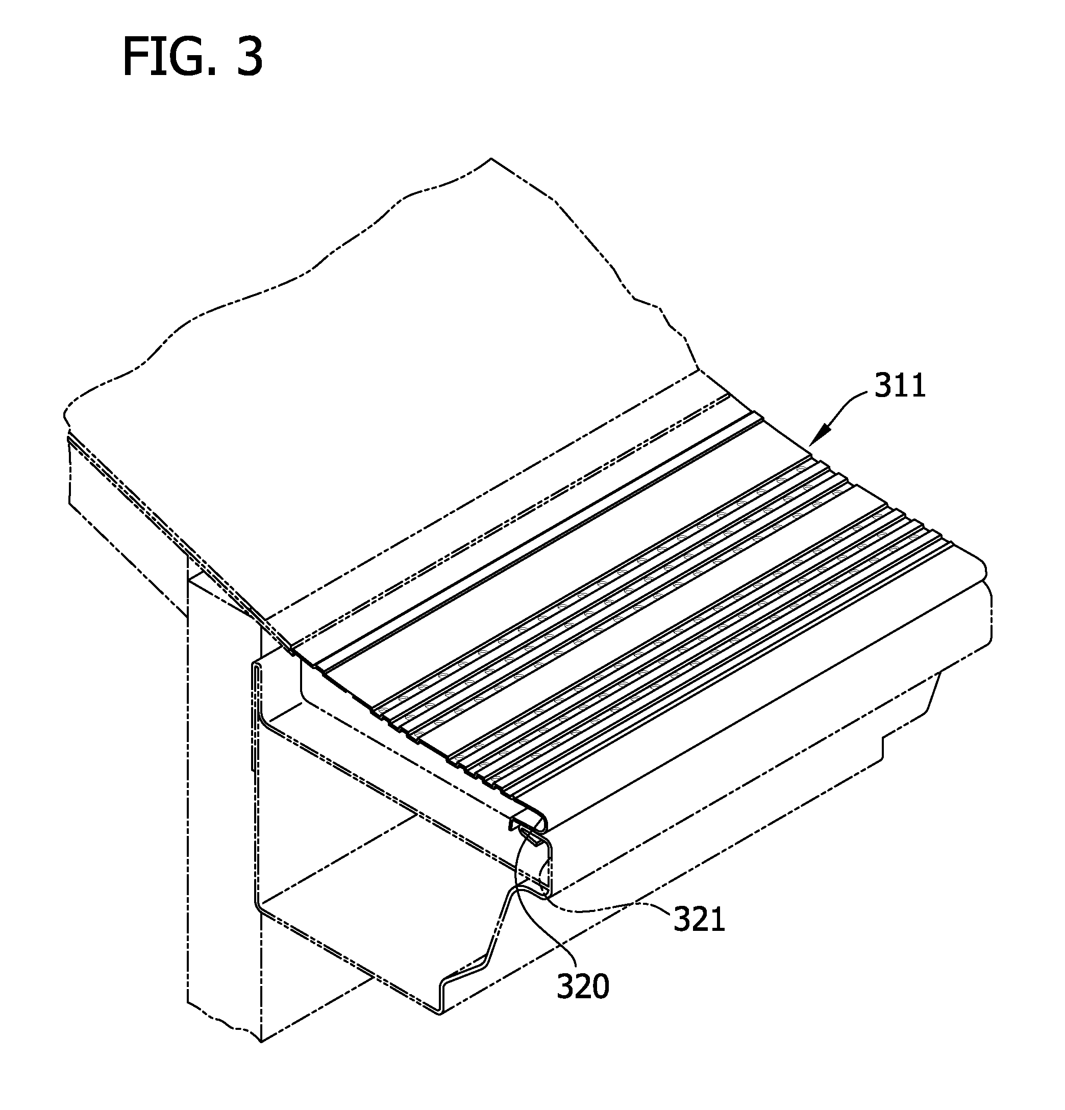 perforated gutter protection system having canals