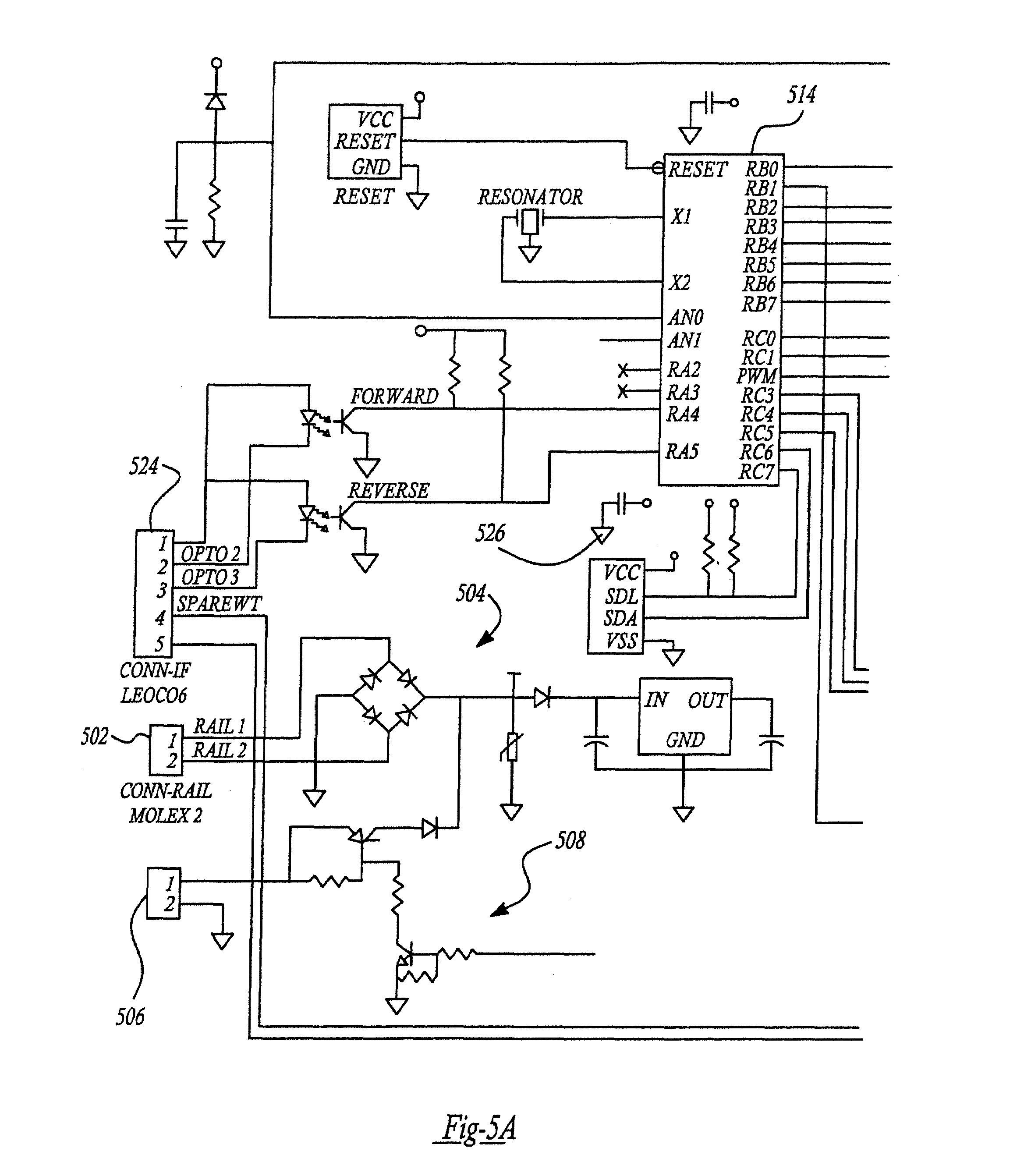 US07656110 20100202 D00003 patent us7656110 control and motor arrangement for use in model  at aneh.co